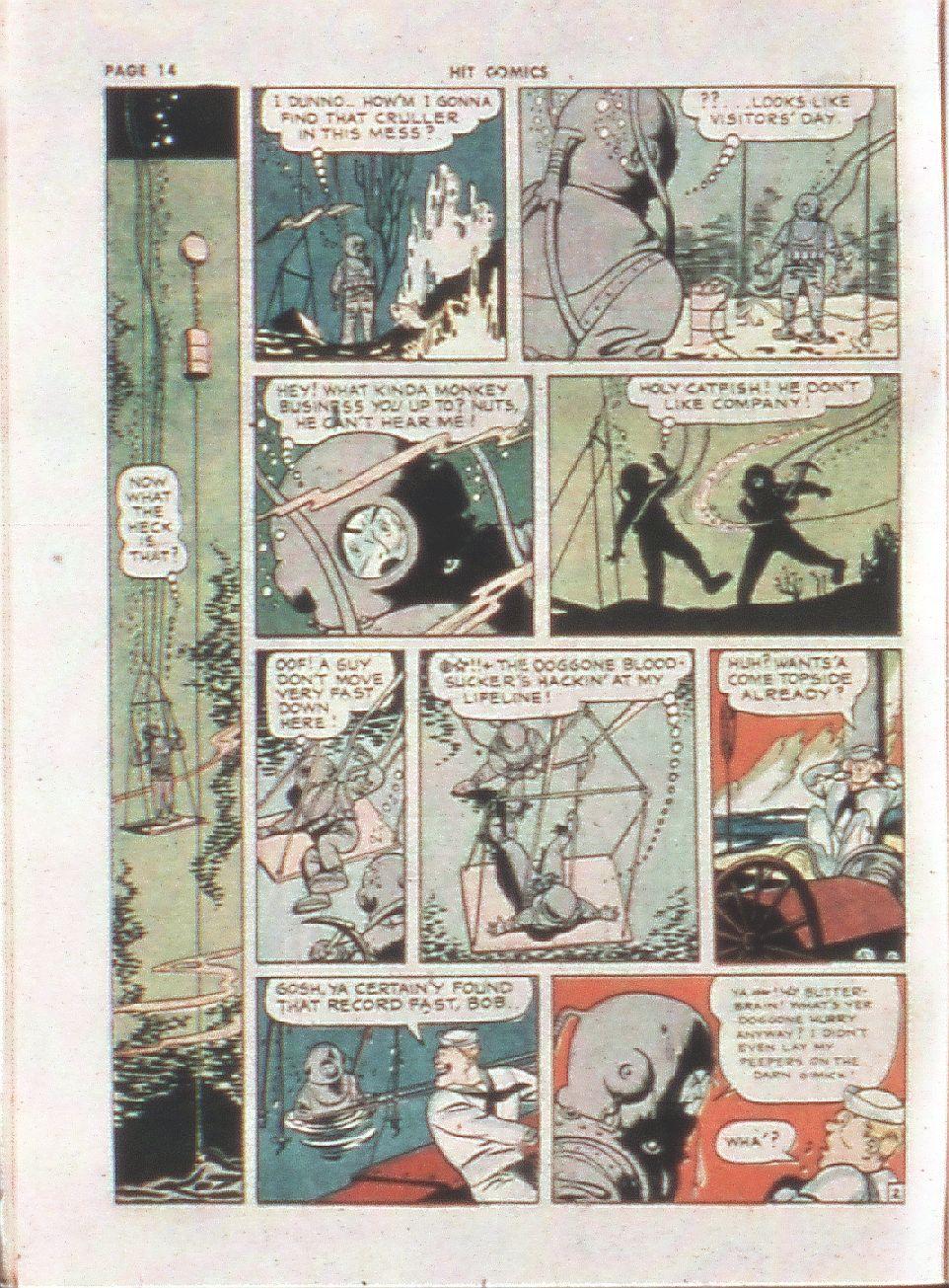 Read online Hit Comics comic -  Issue #21 - 16