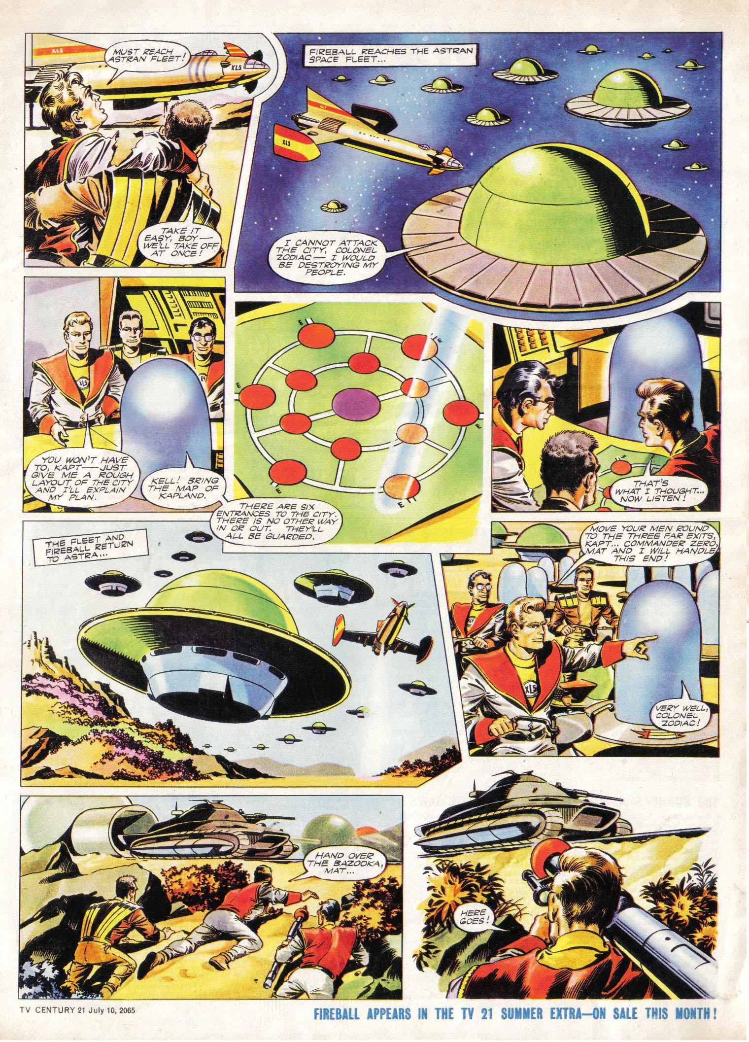 Read online TV Century 21 (TV 21) comic -  Issue #25 - 5