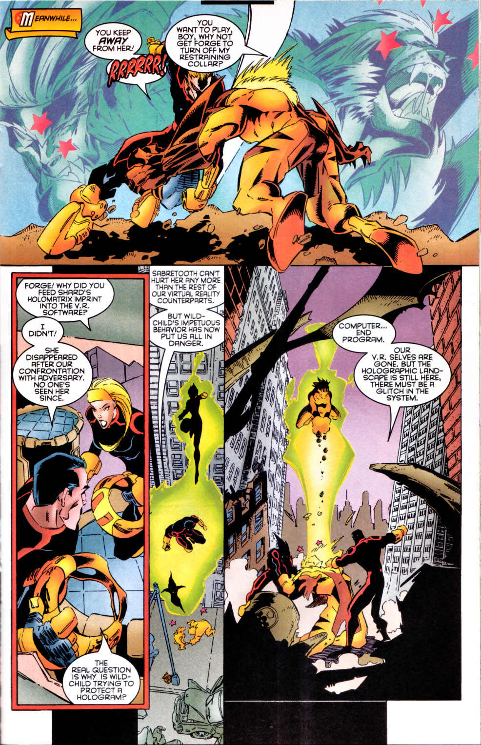Read online X-Factor (1986) comic -  Issue #124 - 12