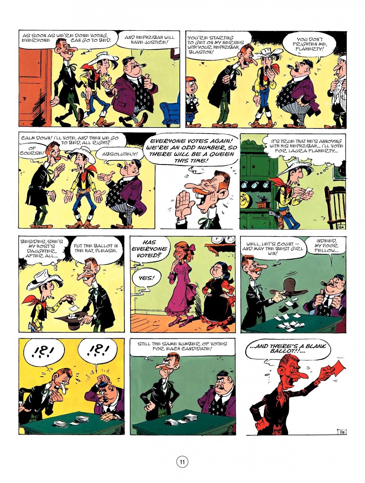 Read online A Lucky Luke Adventure comic -  Issue #50 - 11