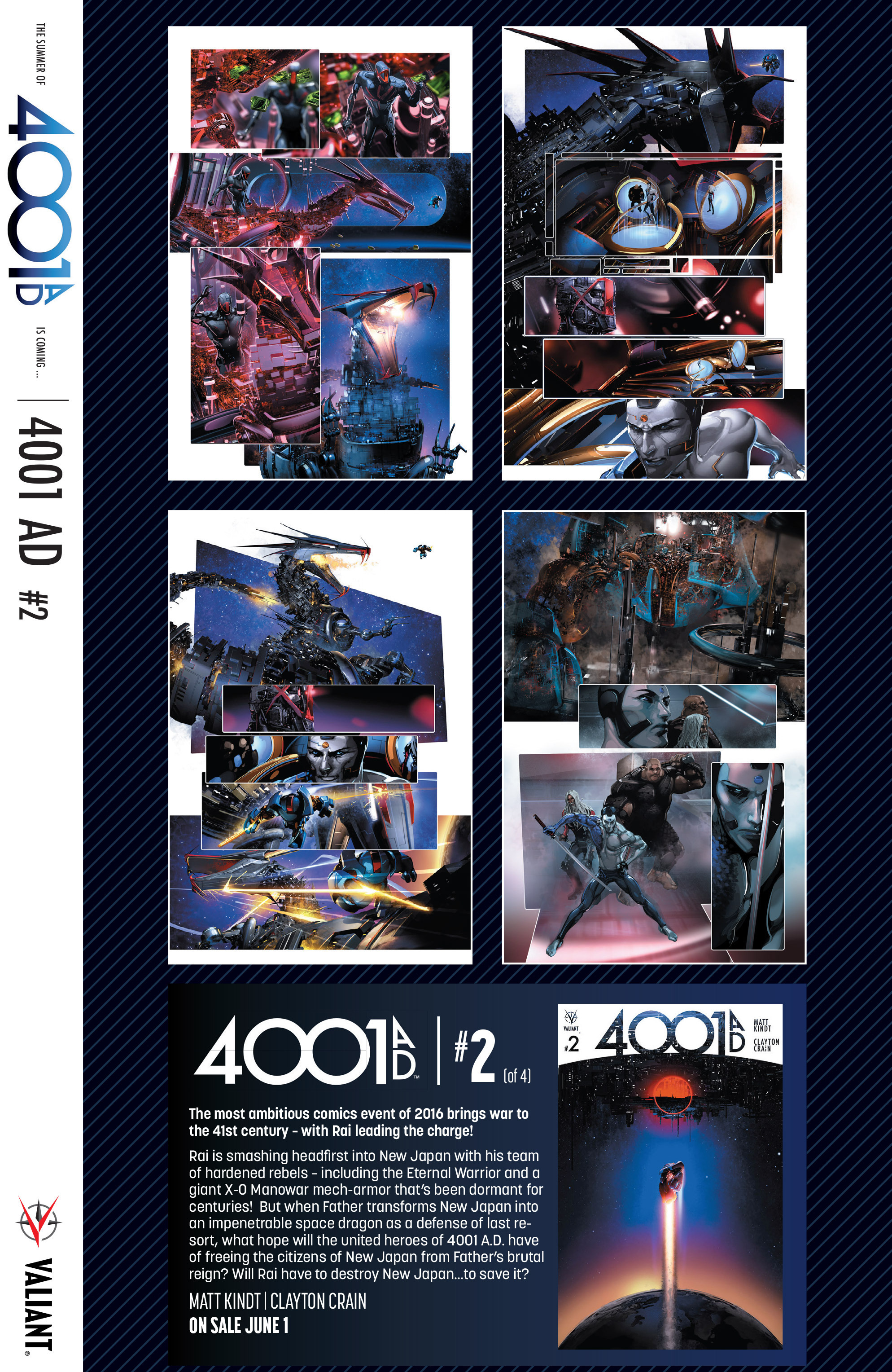 Read online 4001 A.D. comic -  Issue #1 - 32
