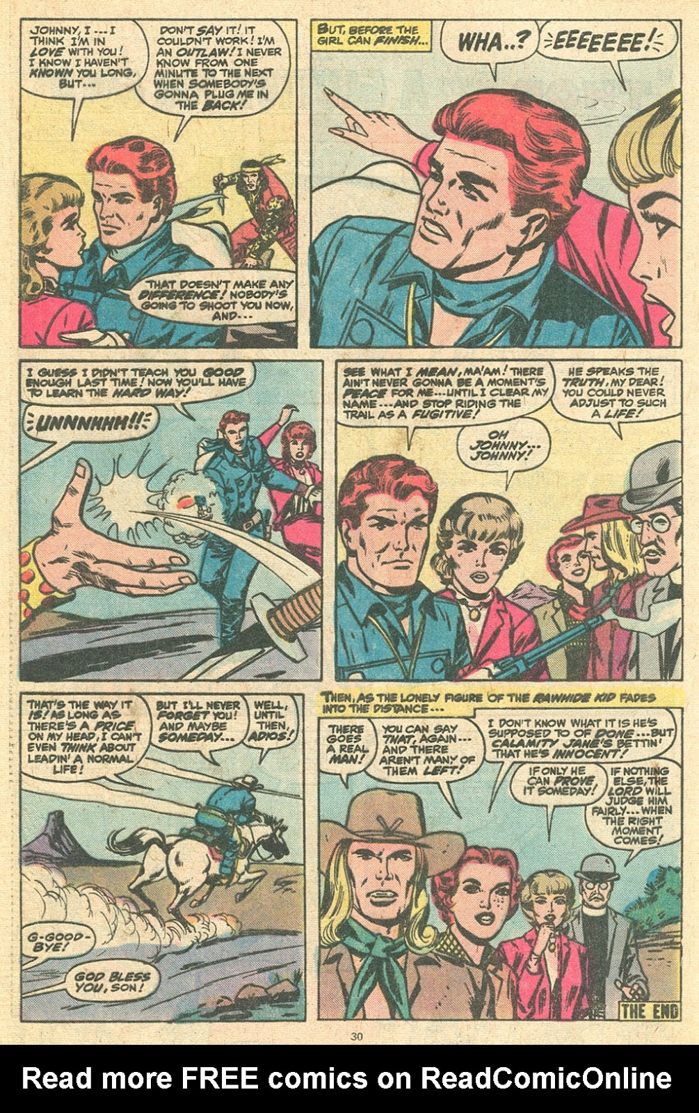 The Rawhide Kid (1955) issue 145 - Page 32