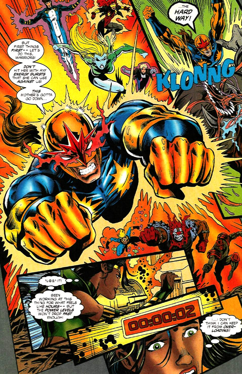 The New Warriors Issue #75 #79 - English 33
