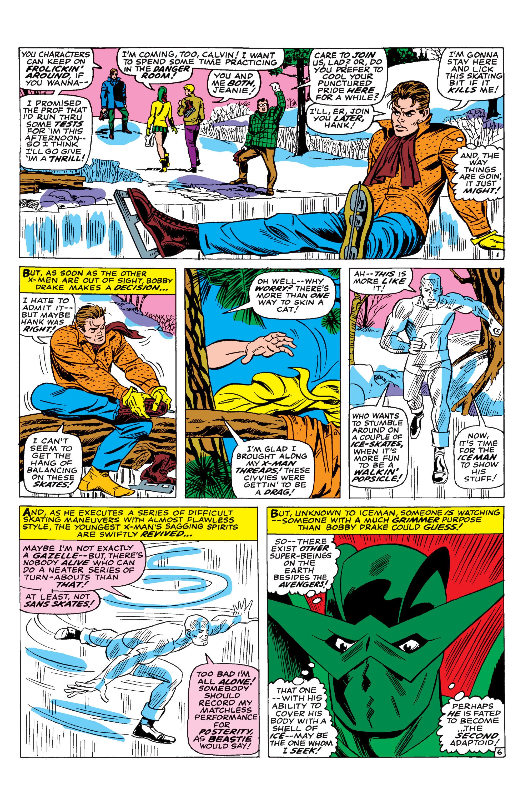 Read online Uncanny X-Men (1963) comic -  Issue #29 - 7