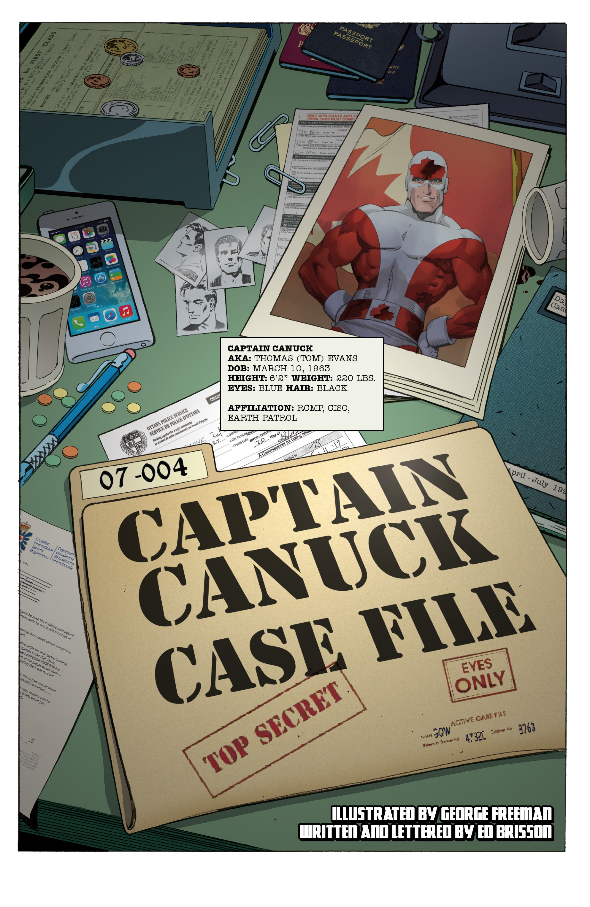 Read online All-New Classic Captain Canuck comic -  Issue #0 - 5