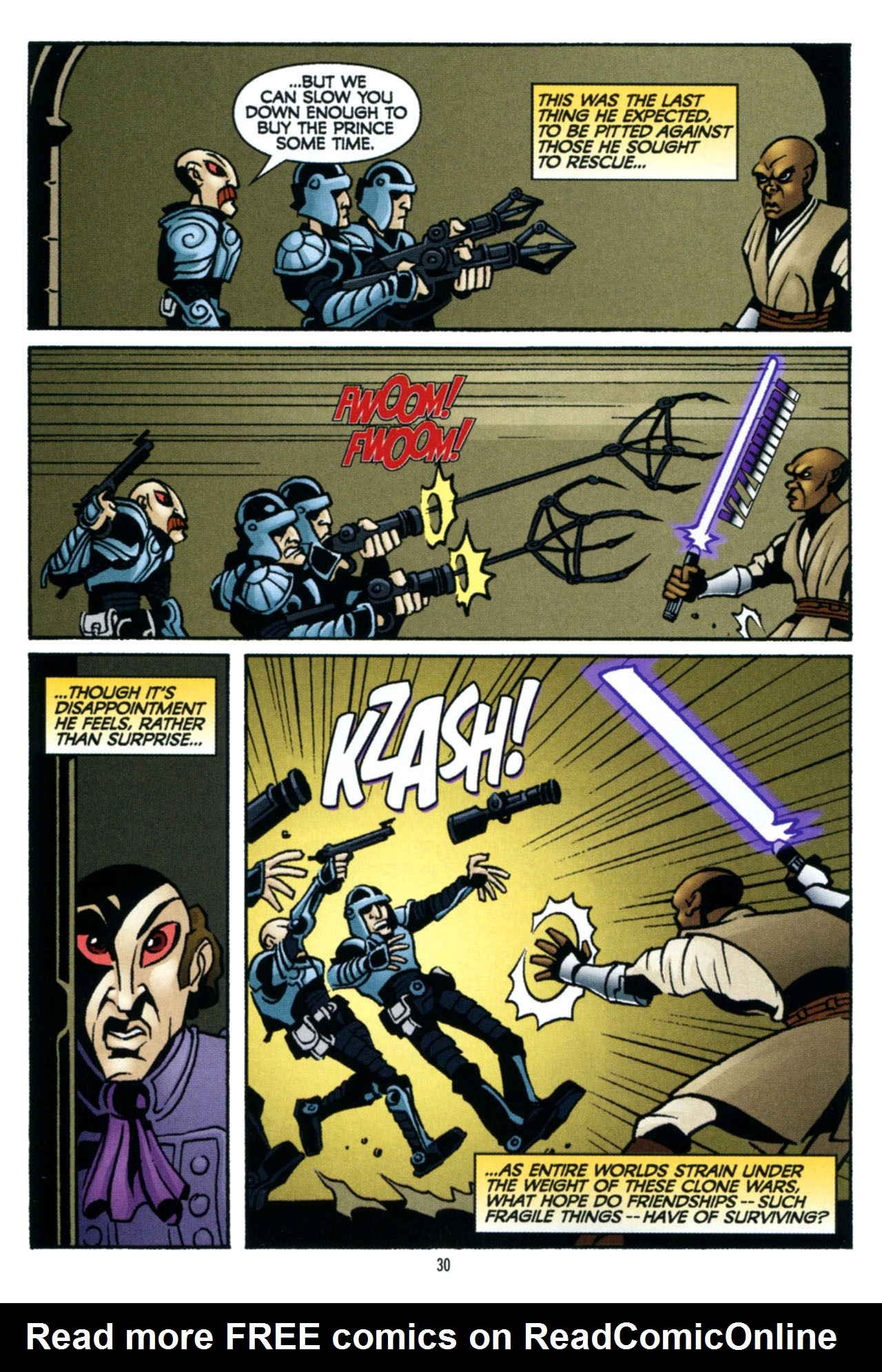 Read online Star Wars: The Clone Wars - The Colossus of Destiny comic -  Issue # Full - 31