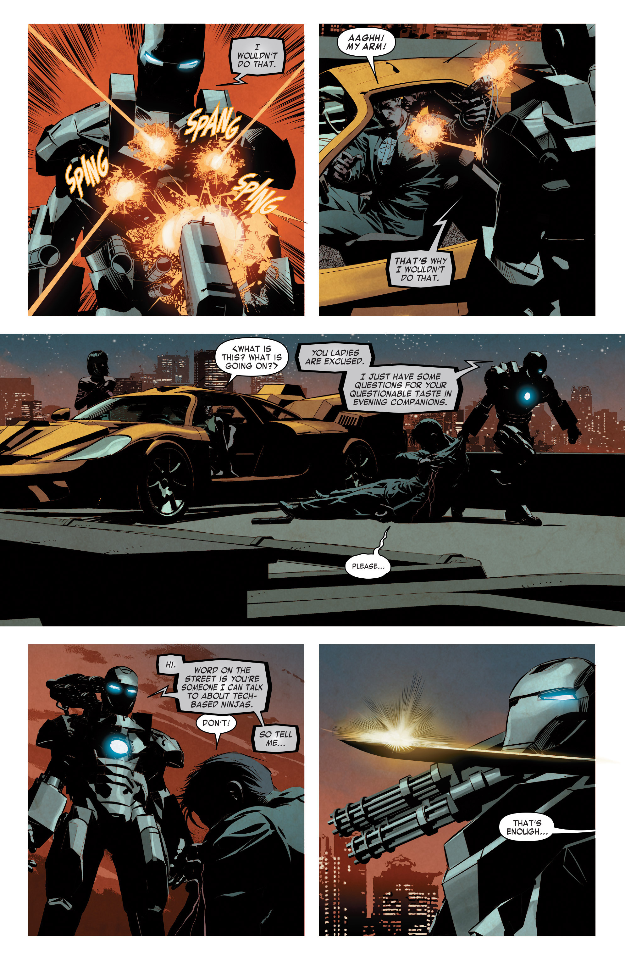 Read online True Believers: Invincible Iron Man-The War Machines comic -  Issue # Full - 22