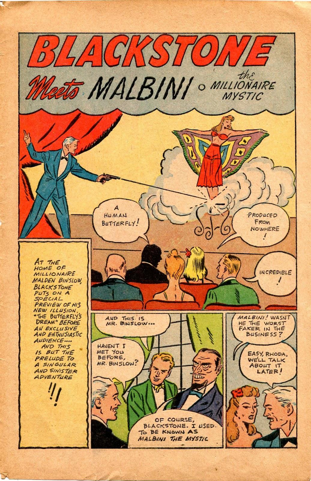 Read online Super-Magician Comics comic -  Issue #34 - 43