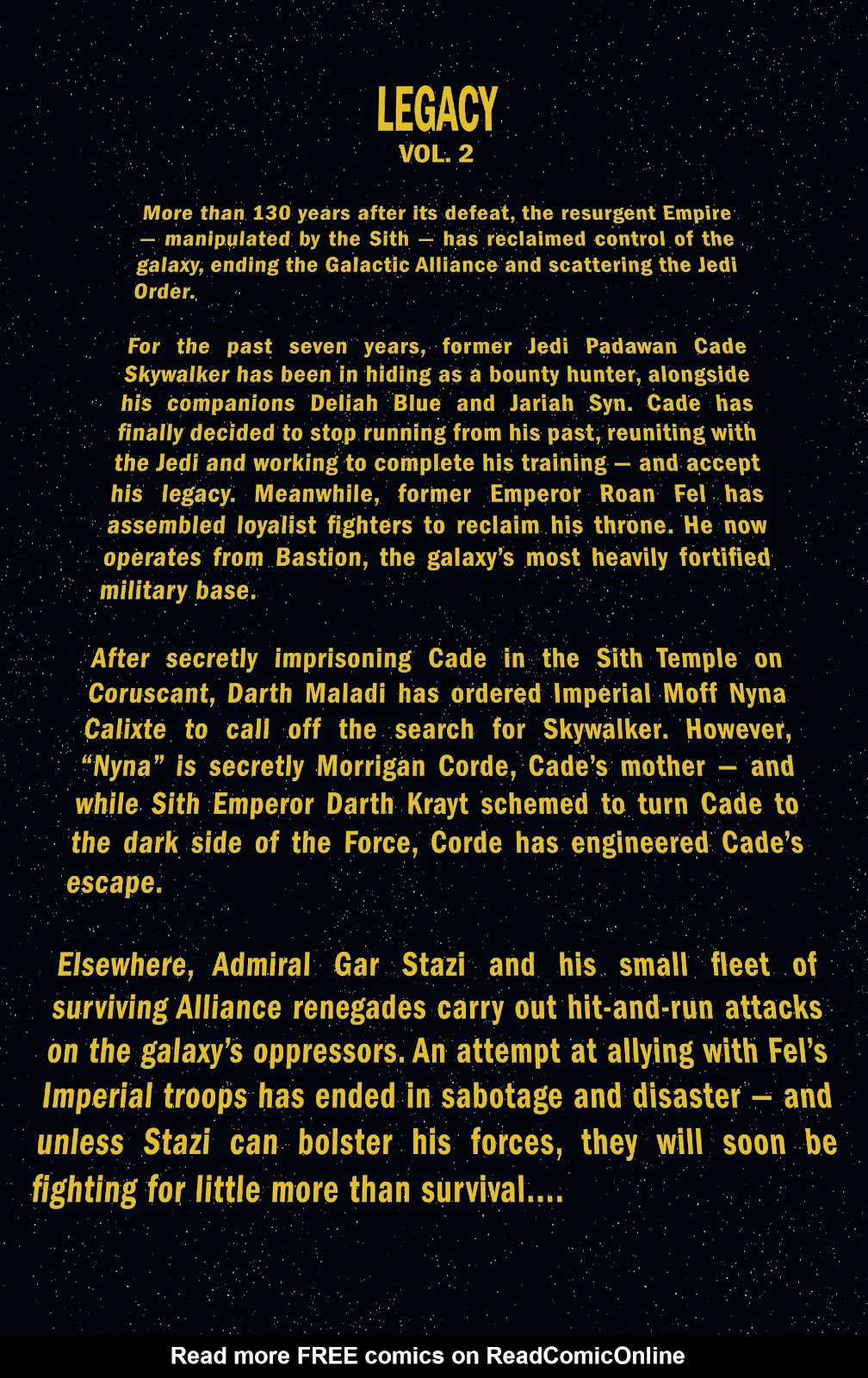 Read online Star Wars Legends: Legacy - Epic Collection comic -  Issue # TPB 2 (Part 1) - 5