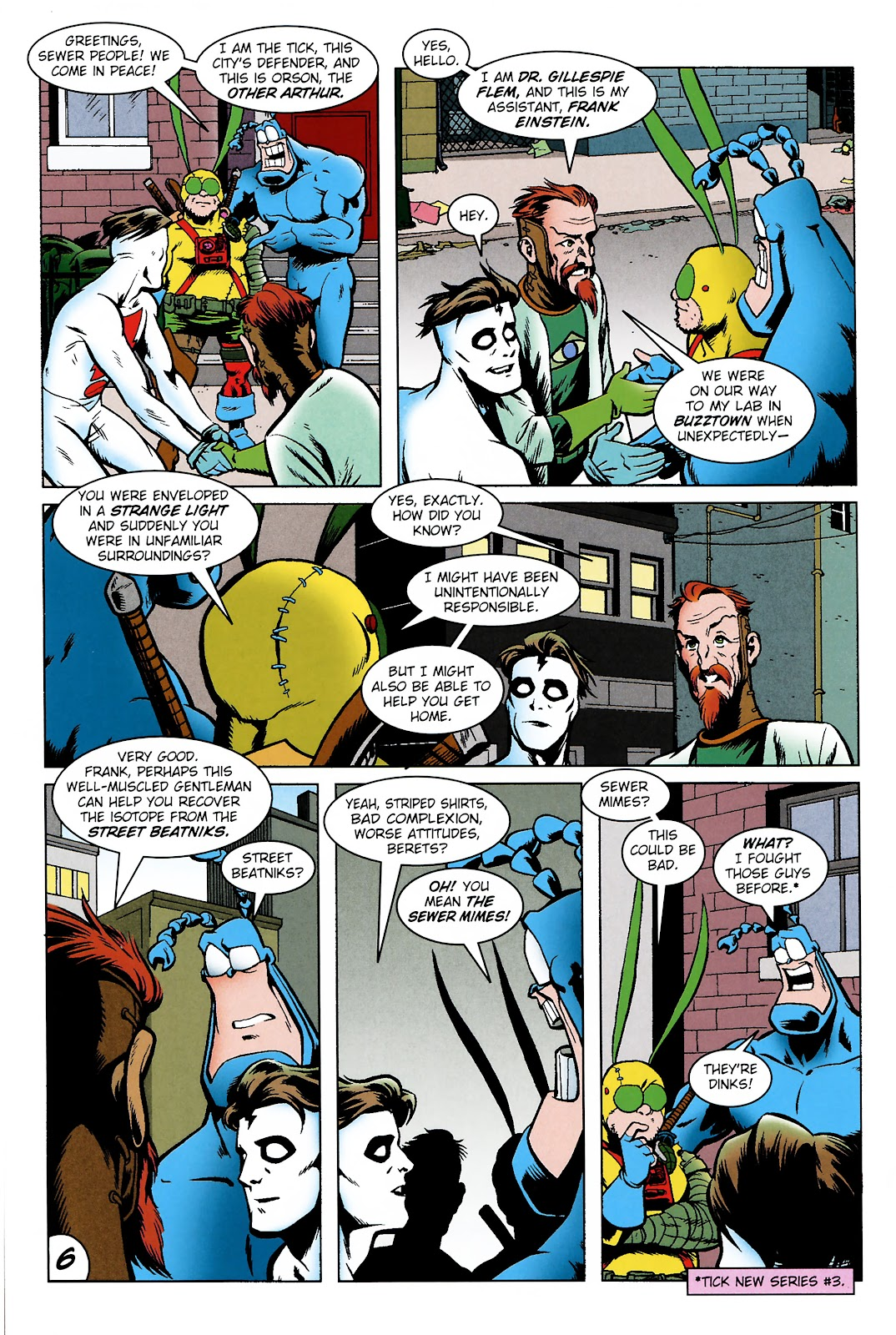 Read online The Tick comic -  Issue #101 - 9