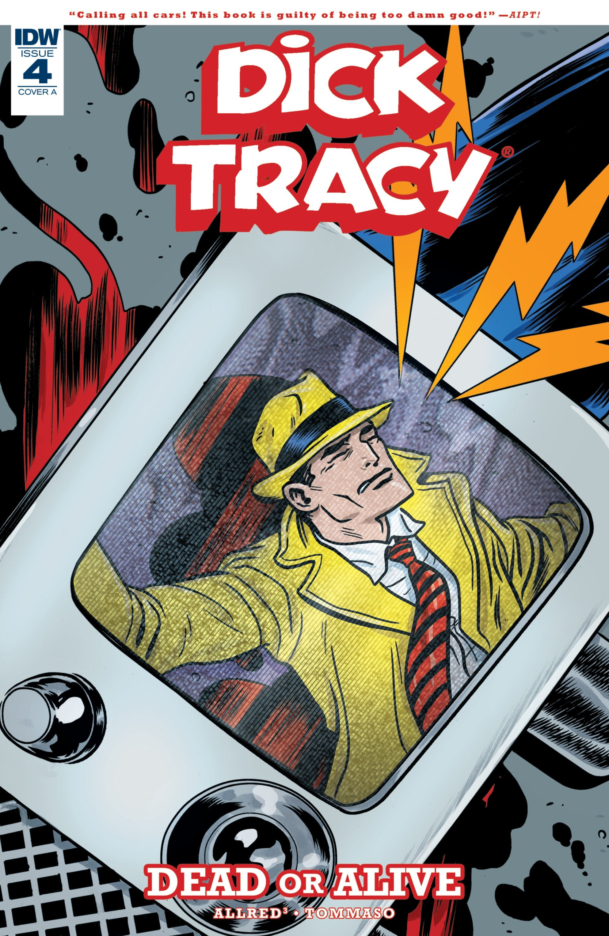 Dick Tracy: Dead Or Alive 4 Page 1