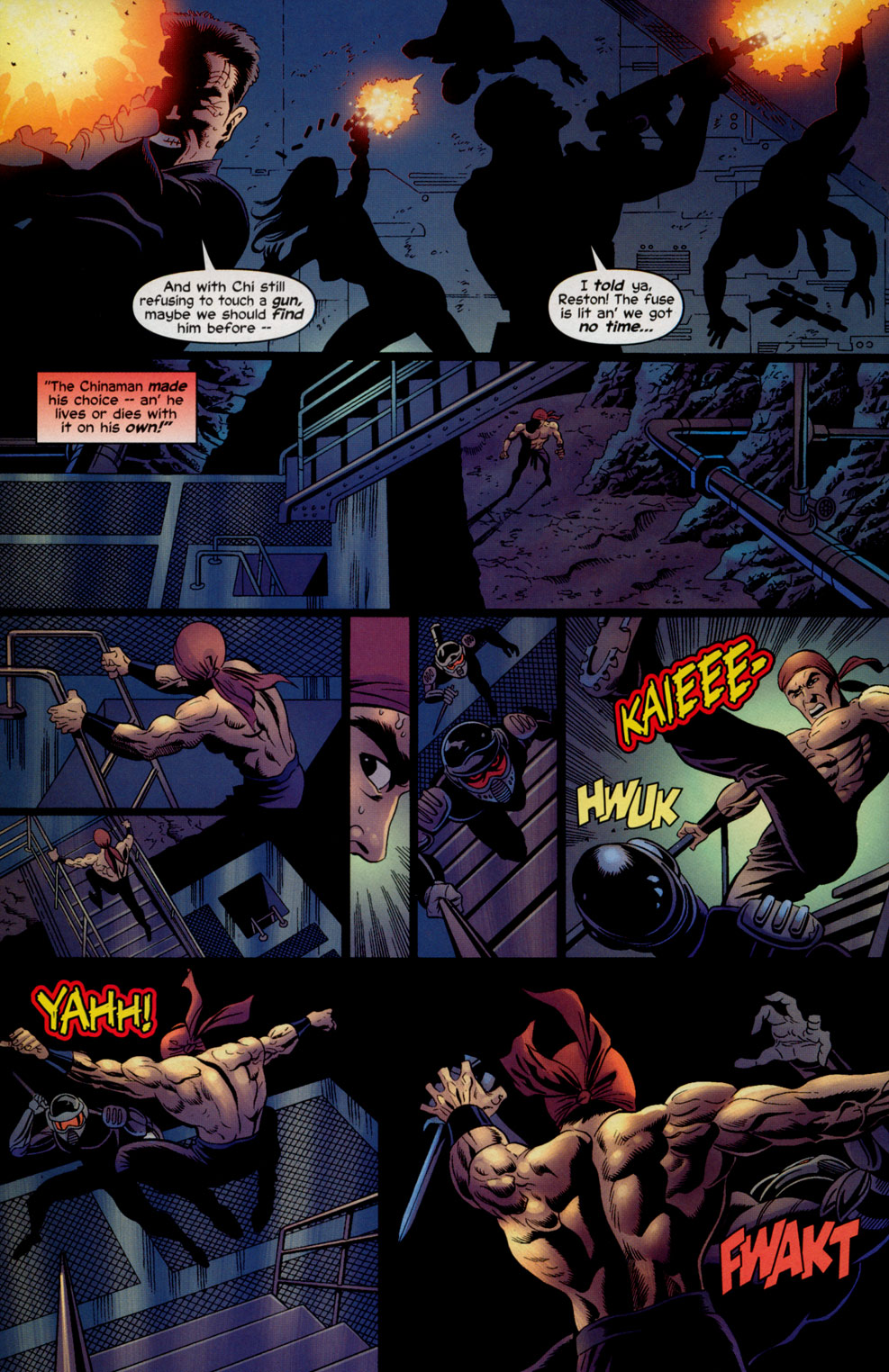 Read online Shang-Chi: Master of Kung Fu comic -  Issue #5 - 14