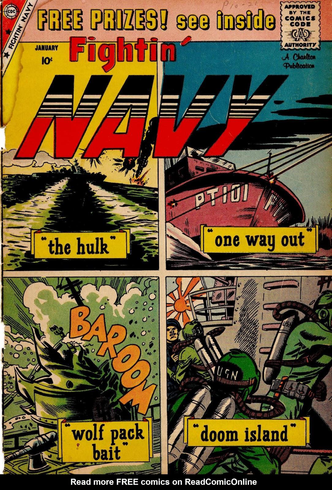 Read online Fightin' Navy comic -  Issue #90 - 1