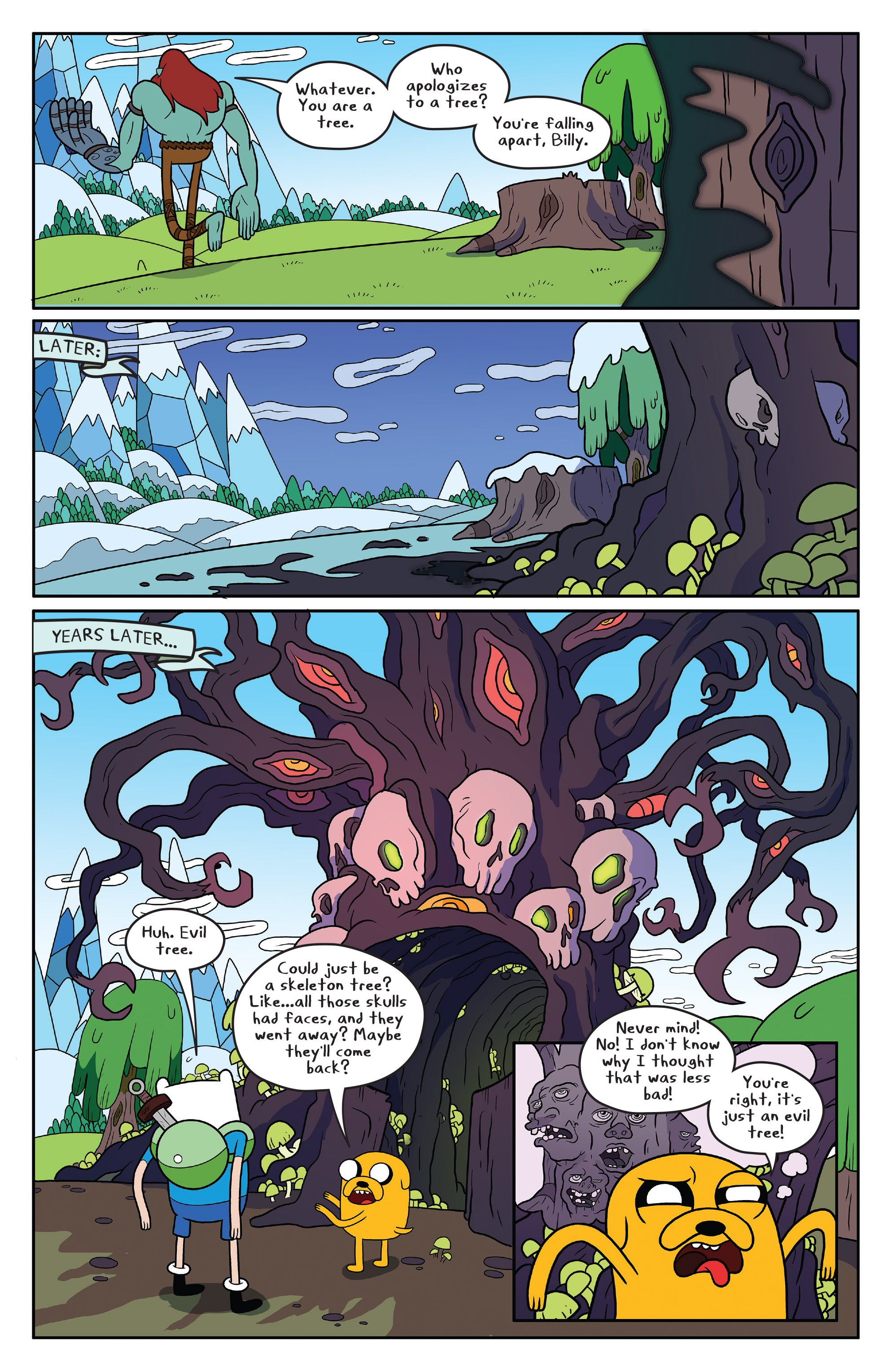 Read online Adventure Time comic -  Issue #50 - 6