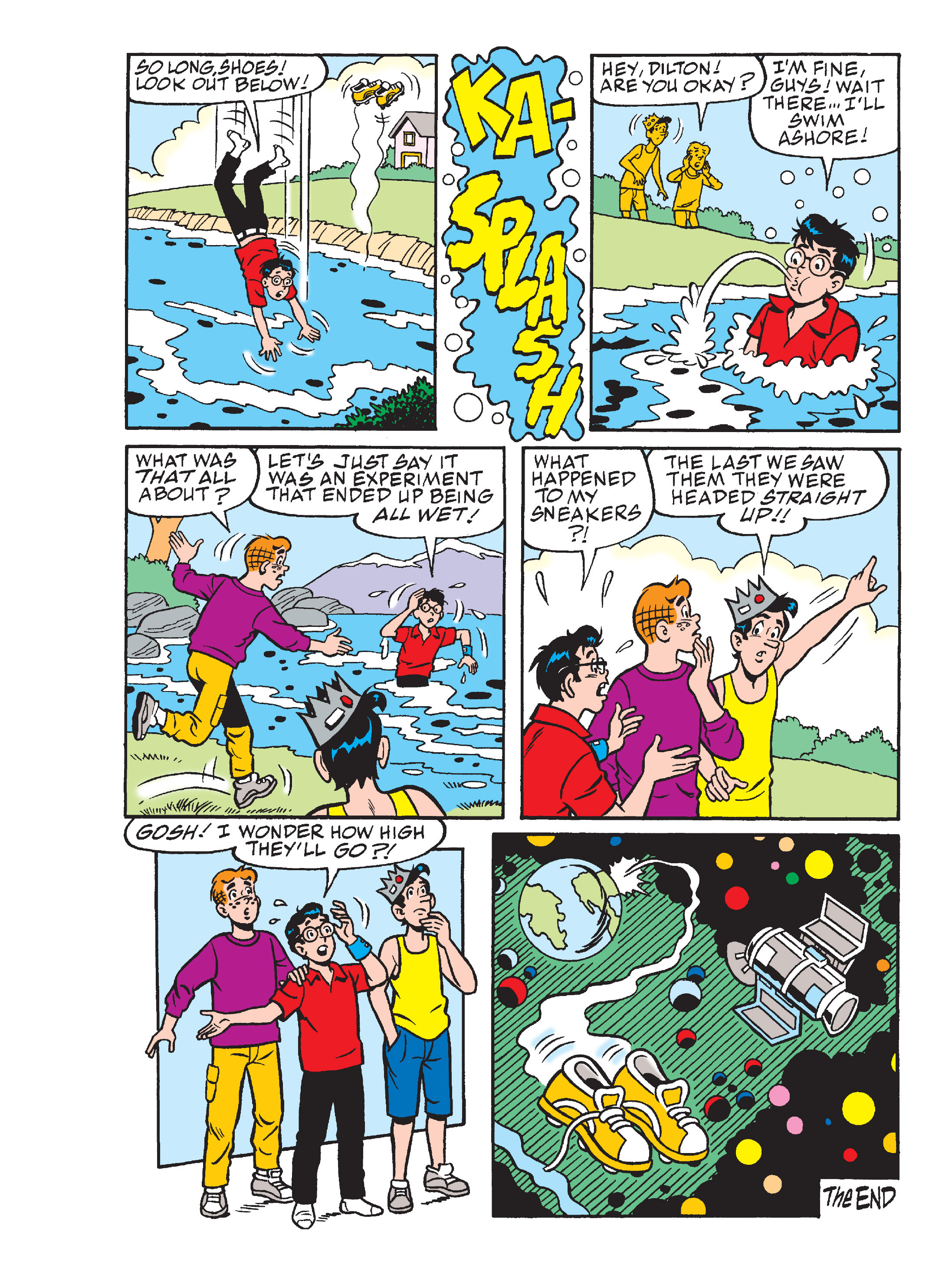 Read online Archie's Funhouse Double Digest comic -  Issue #15 - 18