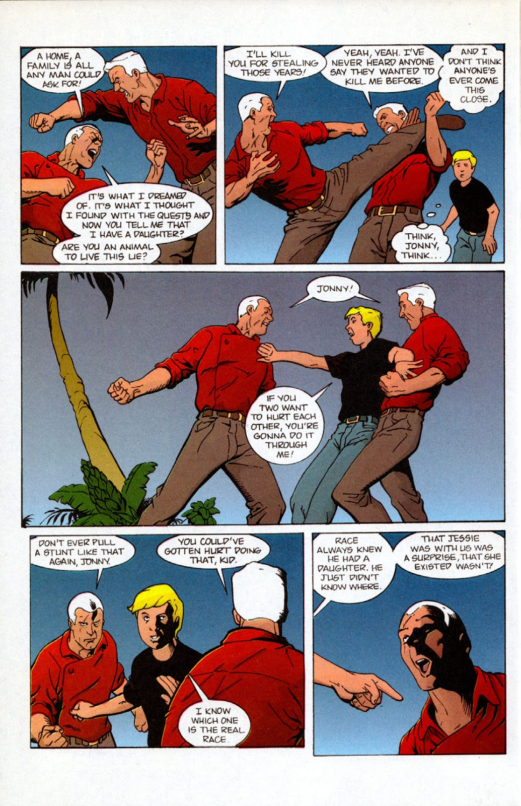 Read online The Real Adventures of Jonny Quest comic -  Issue #7 - 28