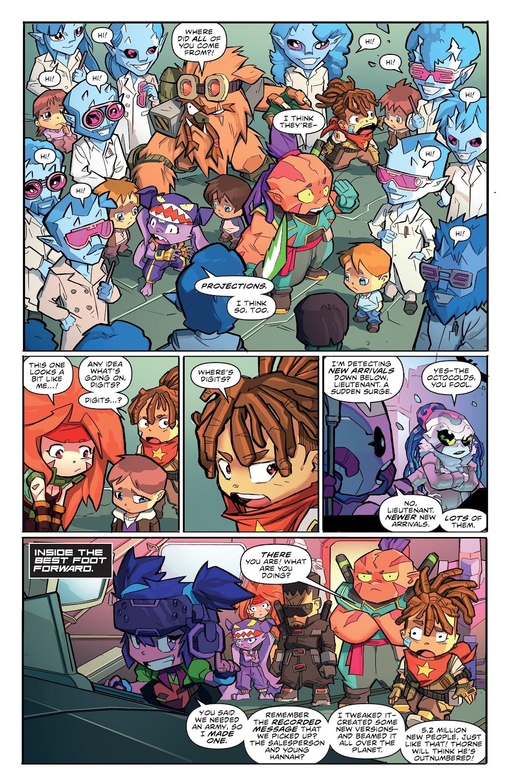 Read online Starcadia Quest comic -  Issue #3 - 20