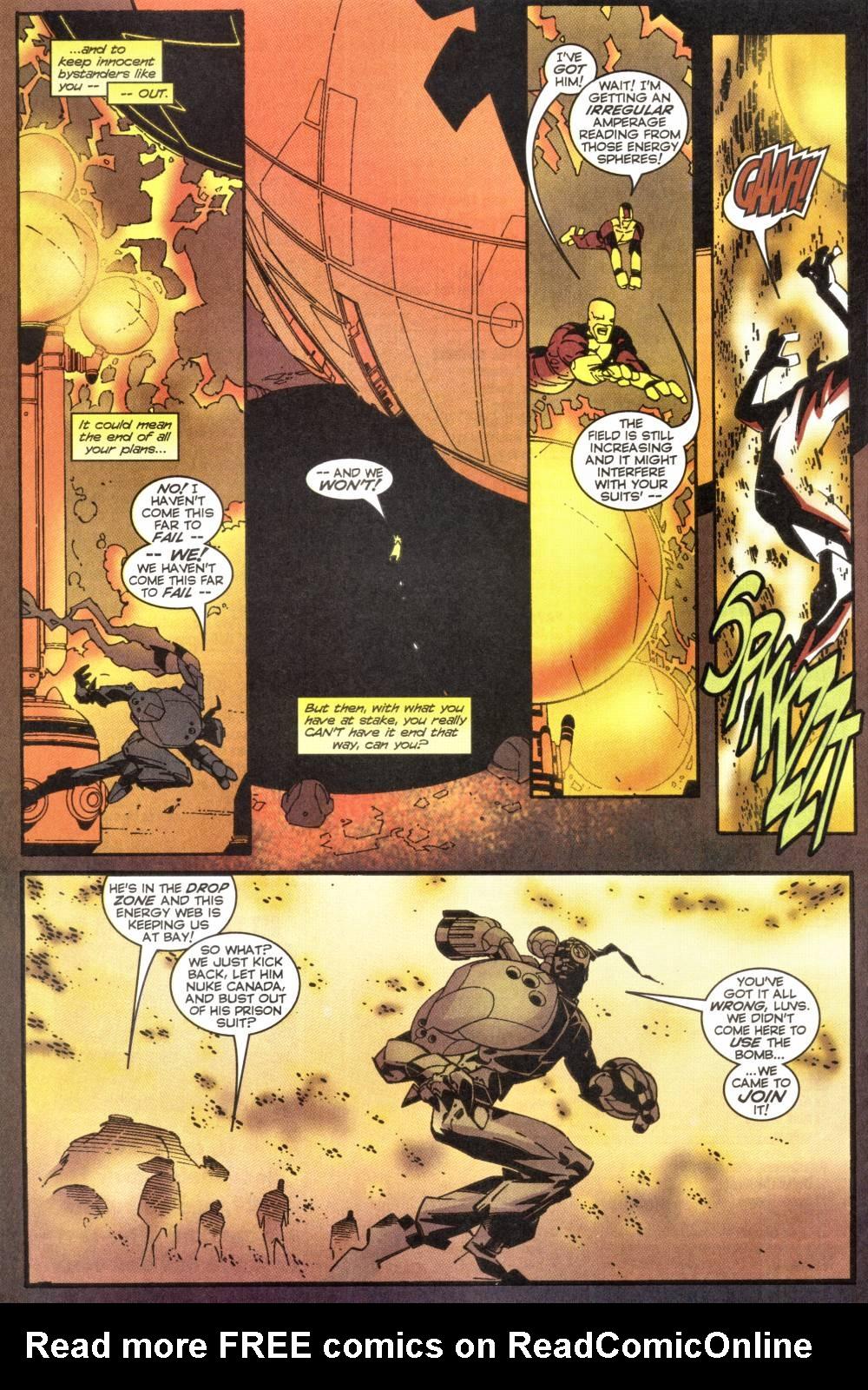Read online Alpha Flight (1997) comic -  Issue #20 - 16