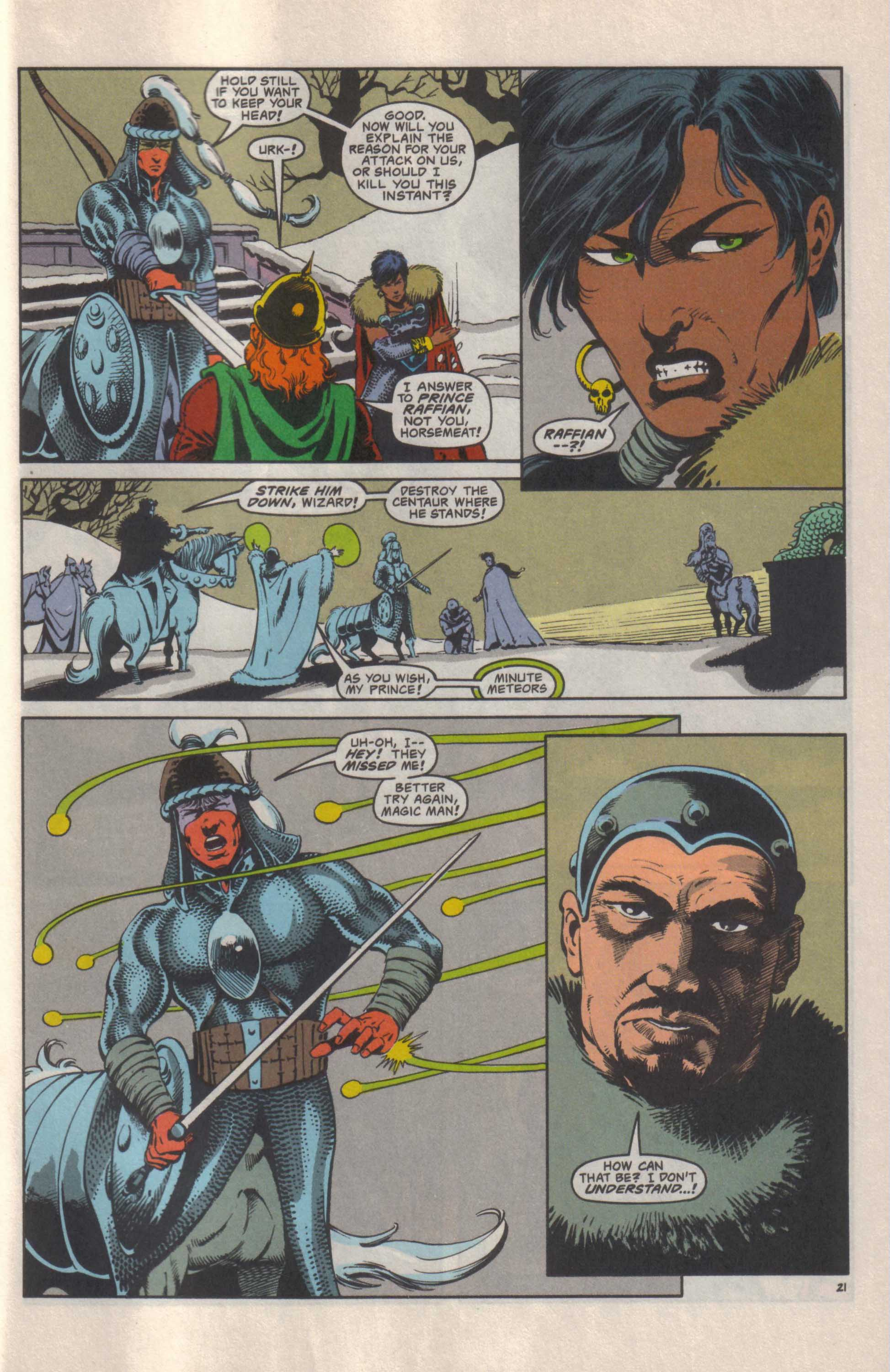 Read online Advanced Dungeons & Dragons comic -  Issue #25 - 22