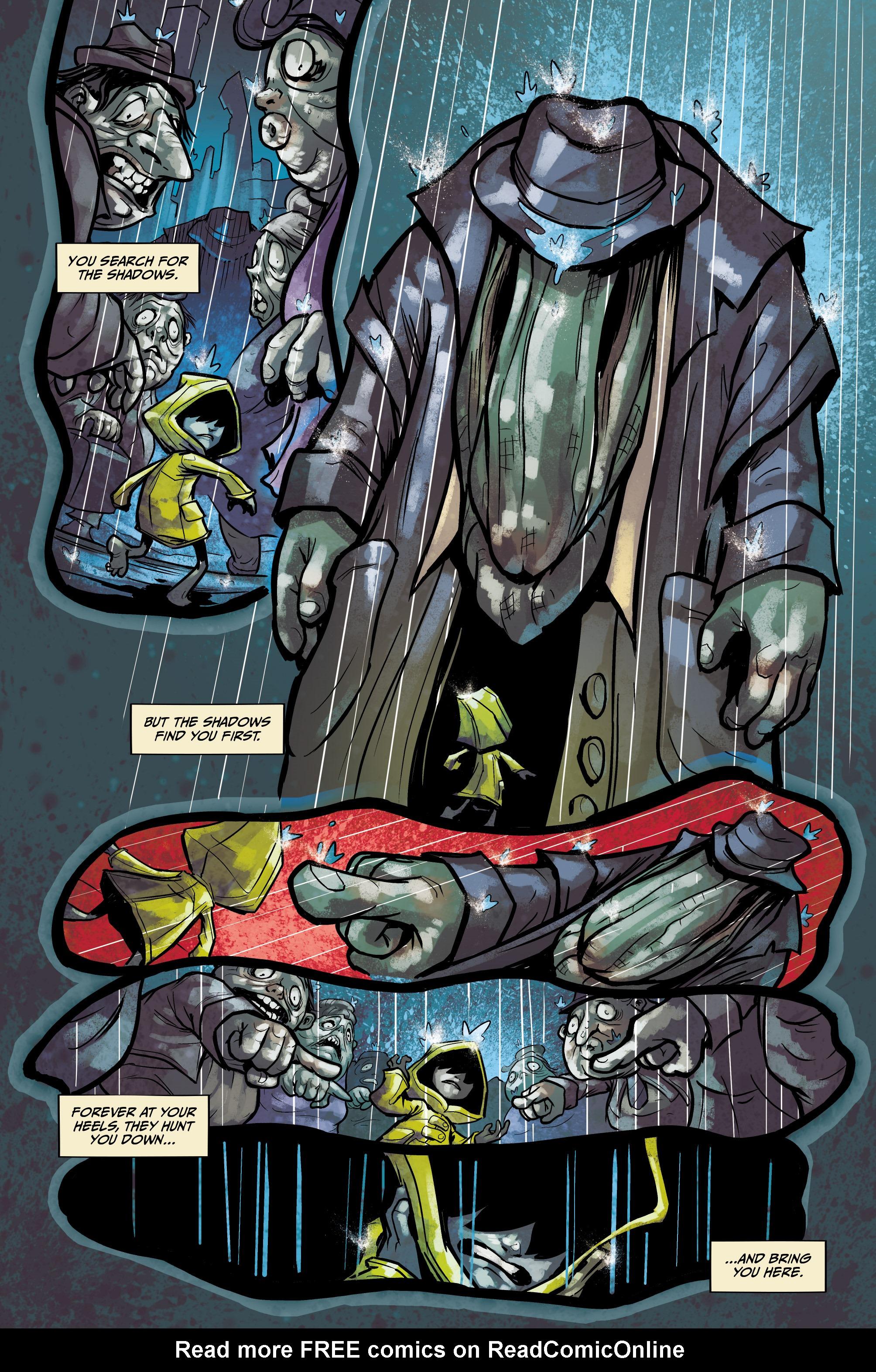 Read online Little Nightmares comic -  Issue #1 - 6