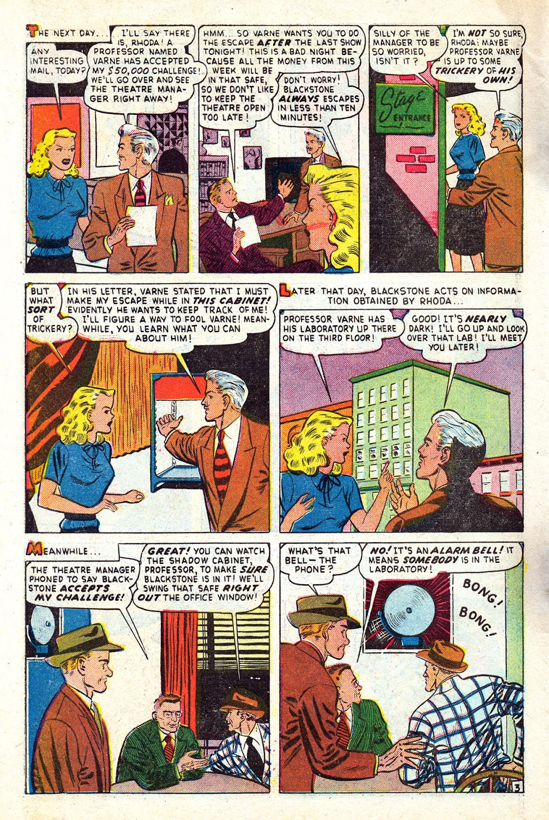 Read online Blackstone the Magician comic -  Issue #4 - 28