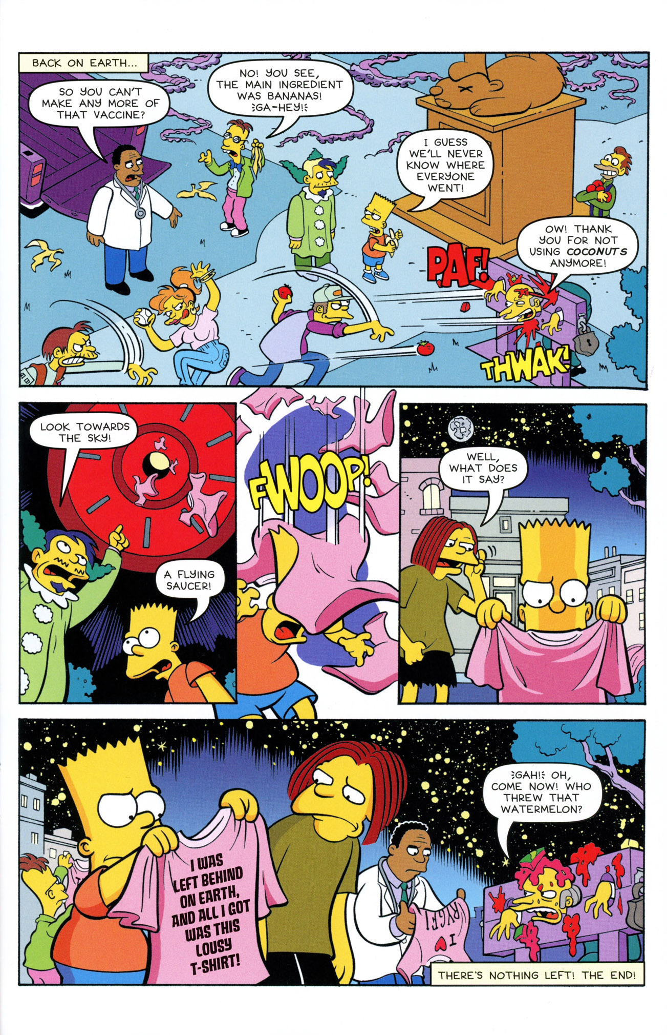 Read online Treehouse of Horror comic -  Issue #21 - 31