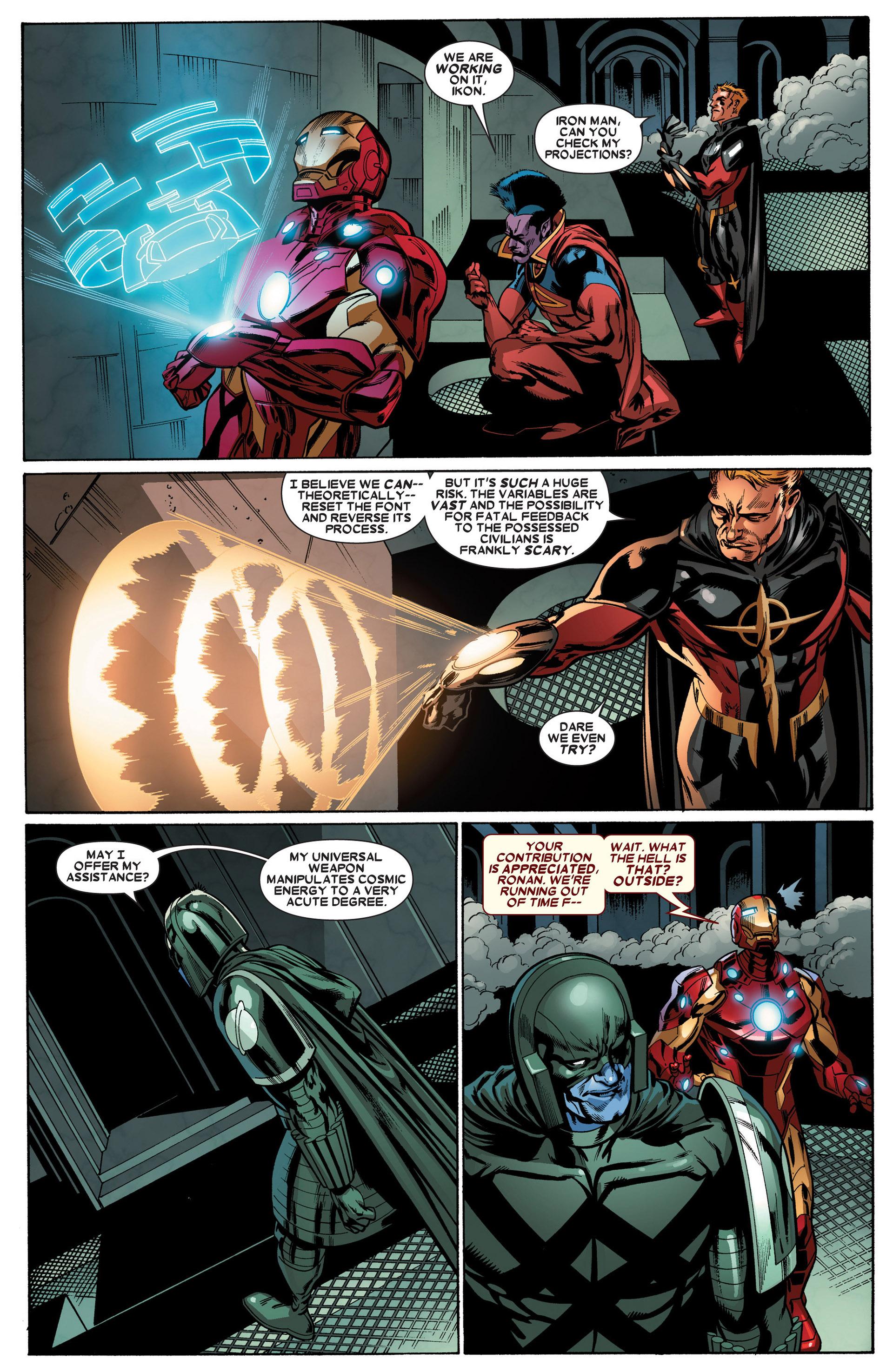 Read online Annihilators: Earthfall comic -  Issue #3 - 20