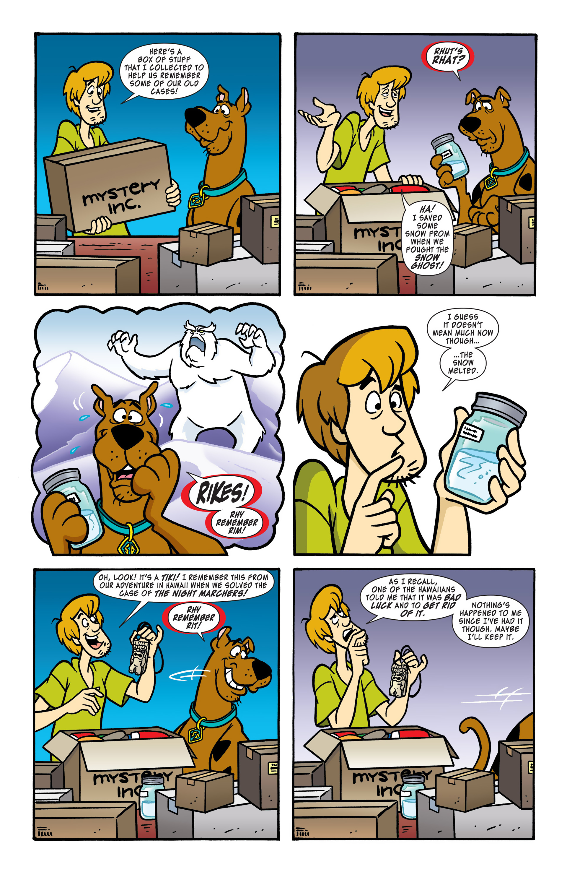 Read online Scooby-Doo: Where Are You? comic -  Issue #48 - 3