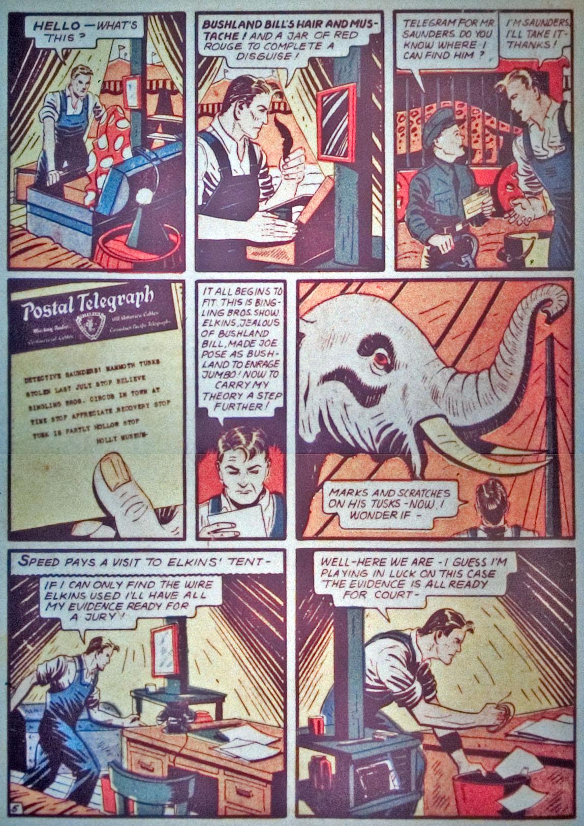 Read online Detective Comics (1937) comic -  Issue #31 - 40