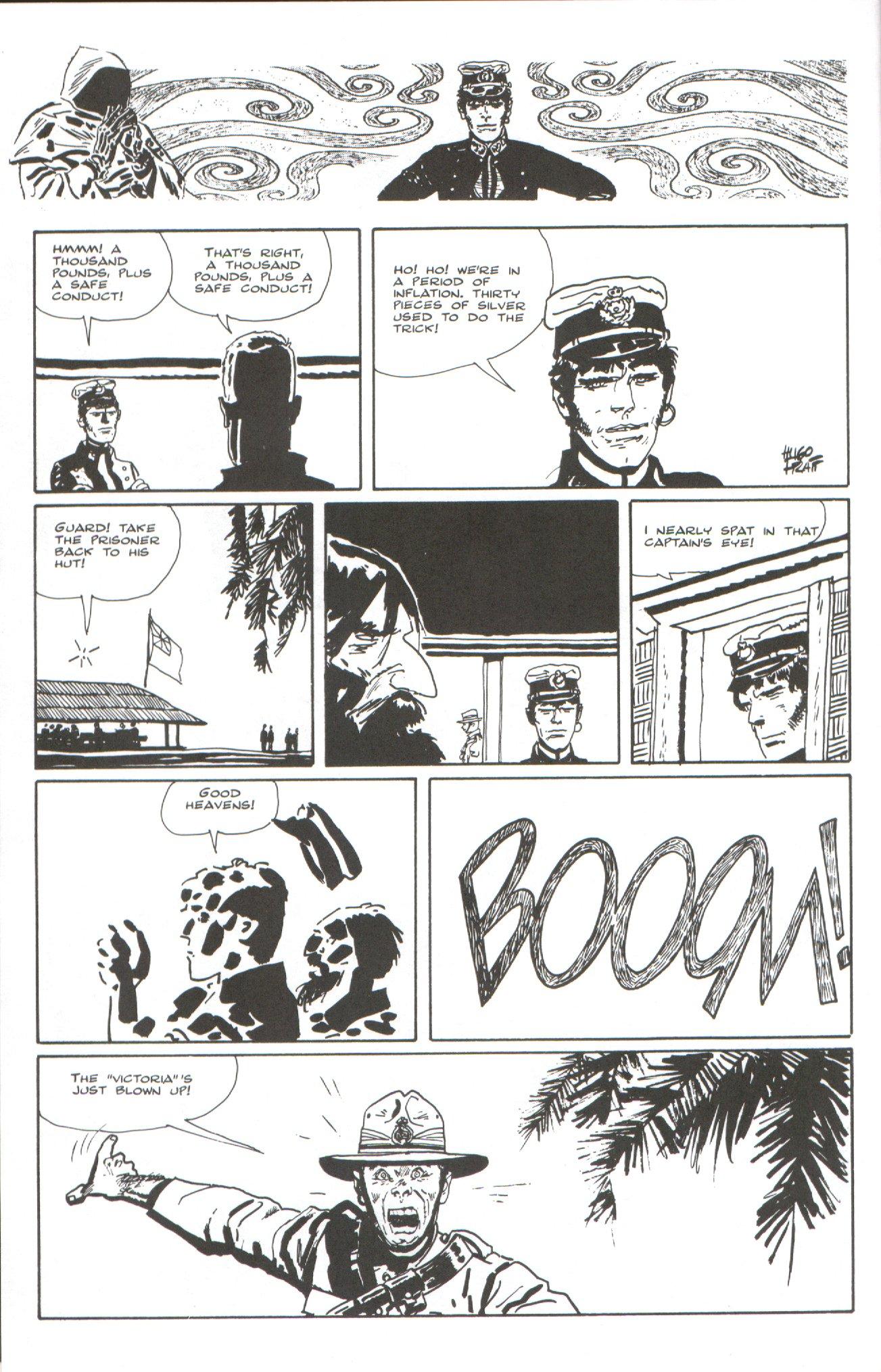 Read online Corto Maltese: Ballad of the Salt Sea comic -  Issue #7 - 4