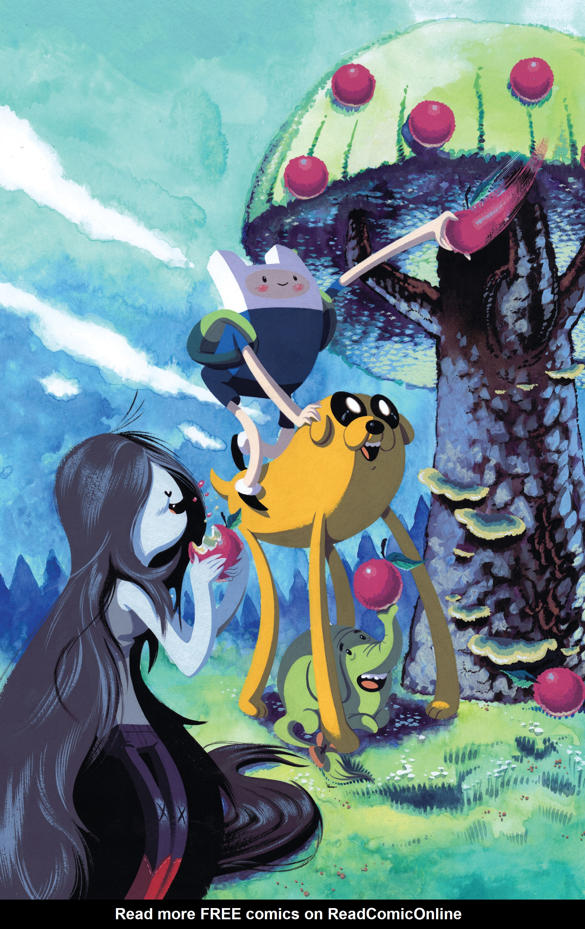Read online Adventure Time comic -  Issue #2 - 4