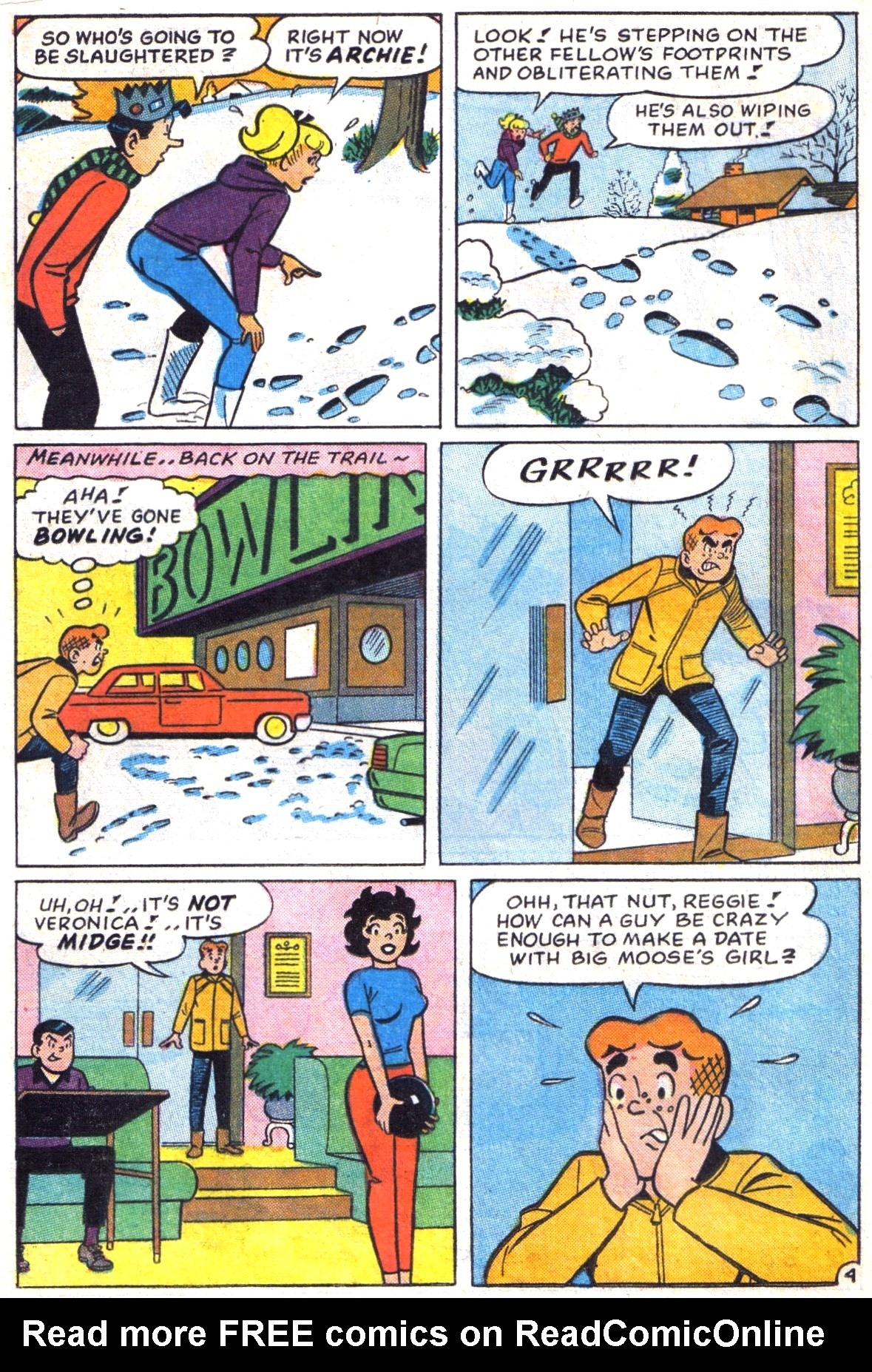 Read online Archie (1960) comic -  Issue #172 - 16