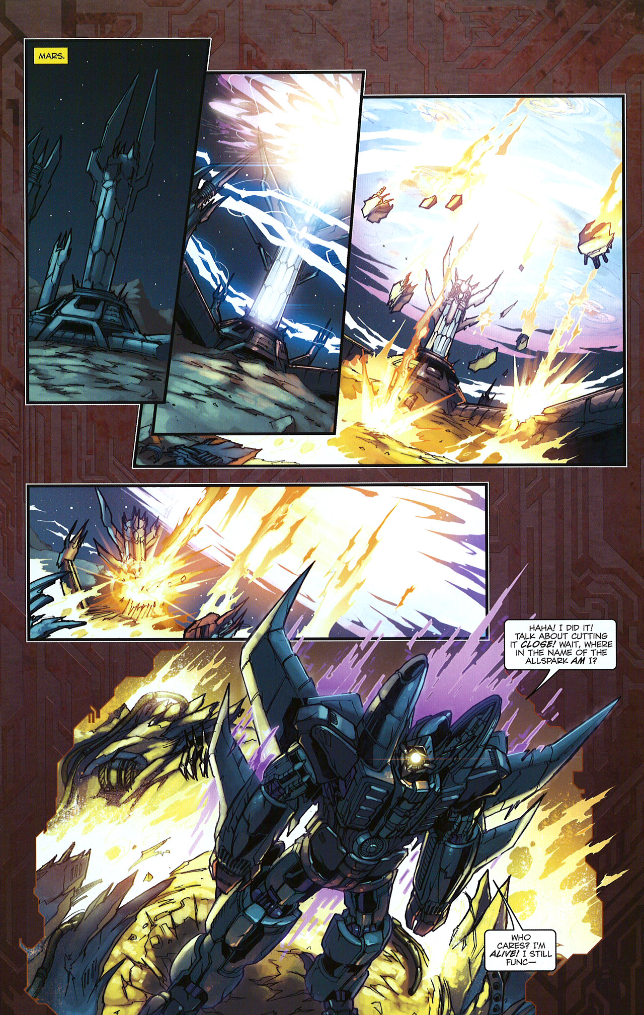 Read online Transformers: The Reign of Starscream comic -  Issue #5 - 23