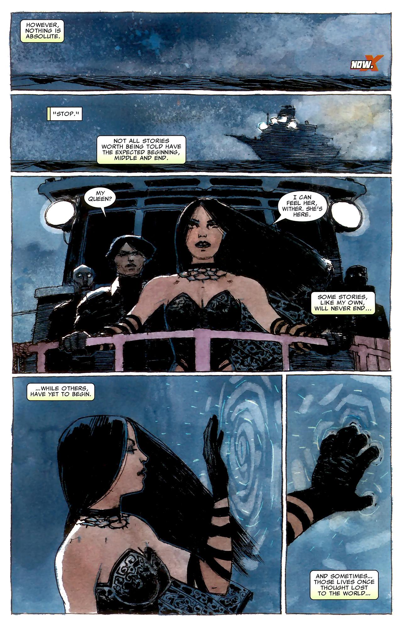 Read online X Necrosha: The Gathering comic -  Issue # Full - 13