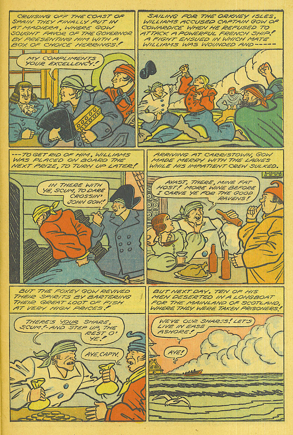 Read online Shadow Comics comic -  Issue #71 - 33