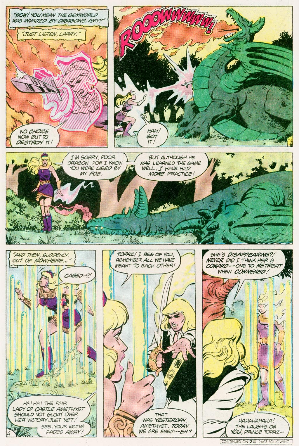 Read online Amethyst (1985) comic -  Issue #12 - 6