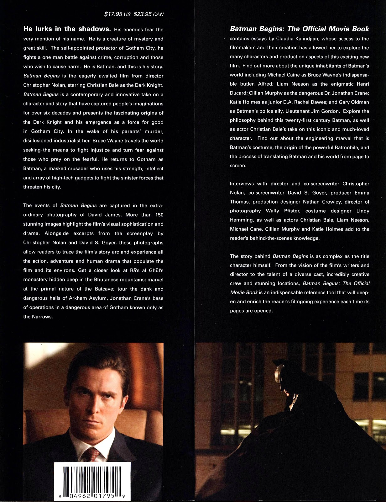 Batman Begins The Official Movie Guide TPB Part 1
