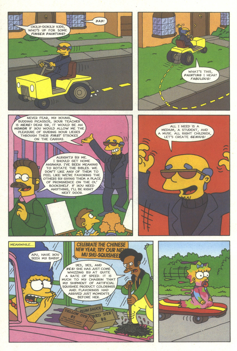 Read online Simpsons Comics comic -  Issue #35 - 15