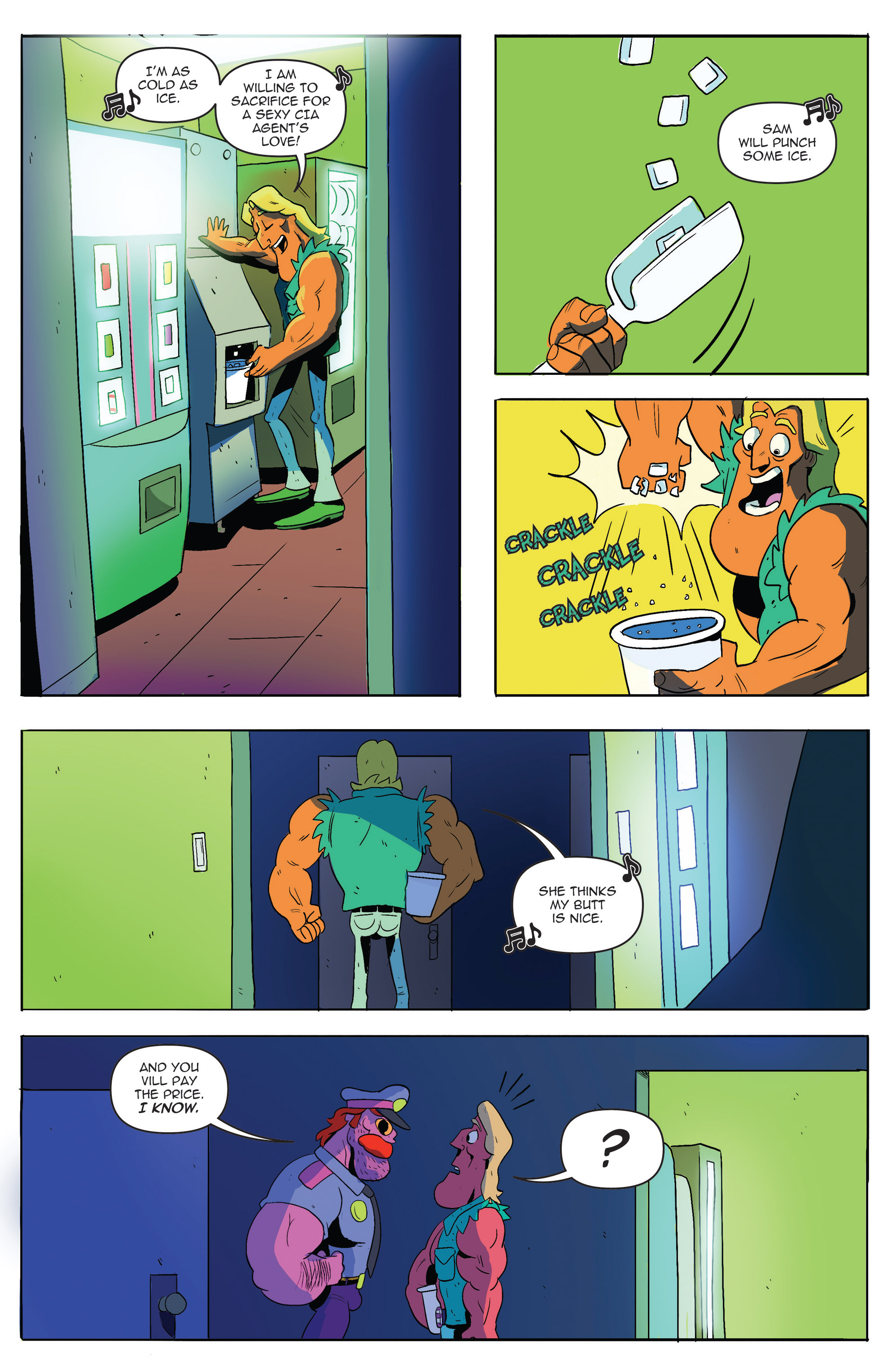 Read online AmeriKarate comic -  Issue #2 - 19