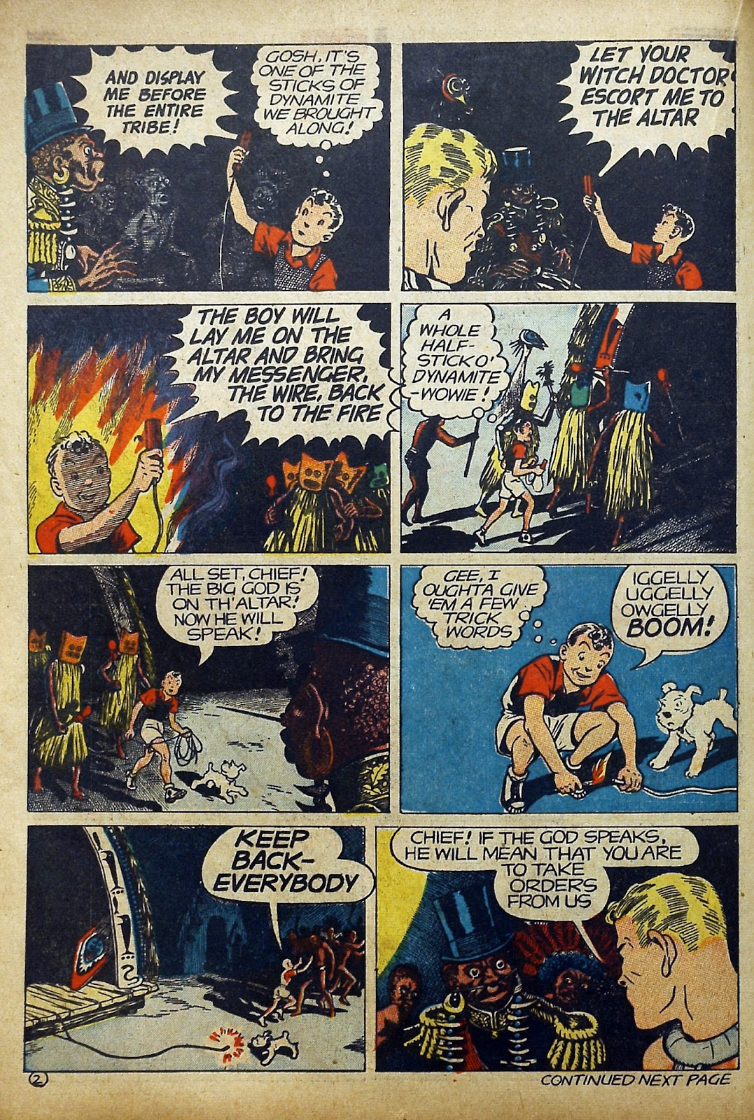 Read online Famous Funnies comic -  Issue #97 - 25