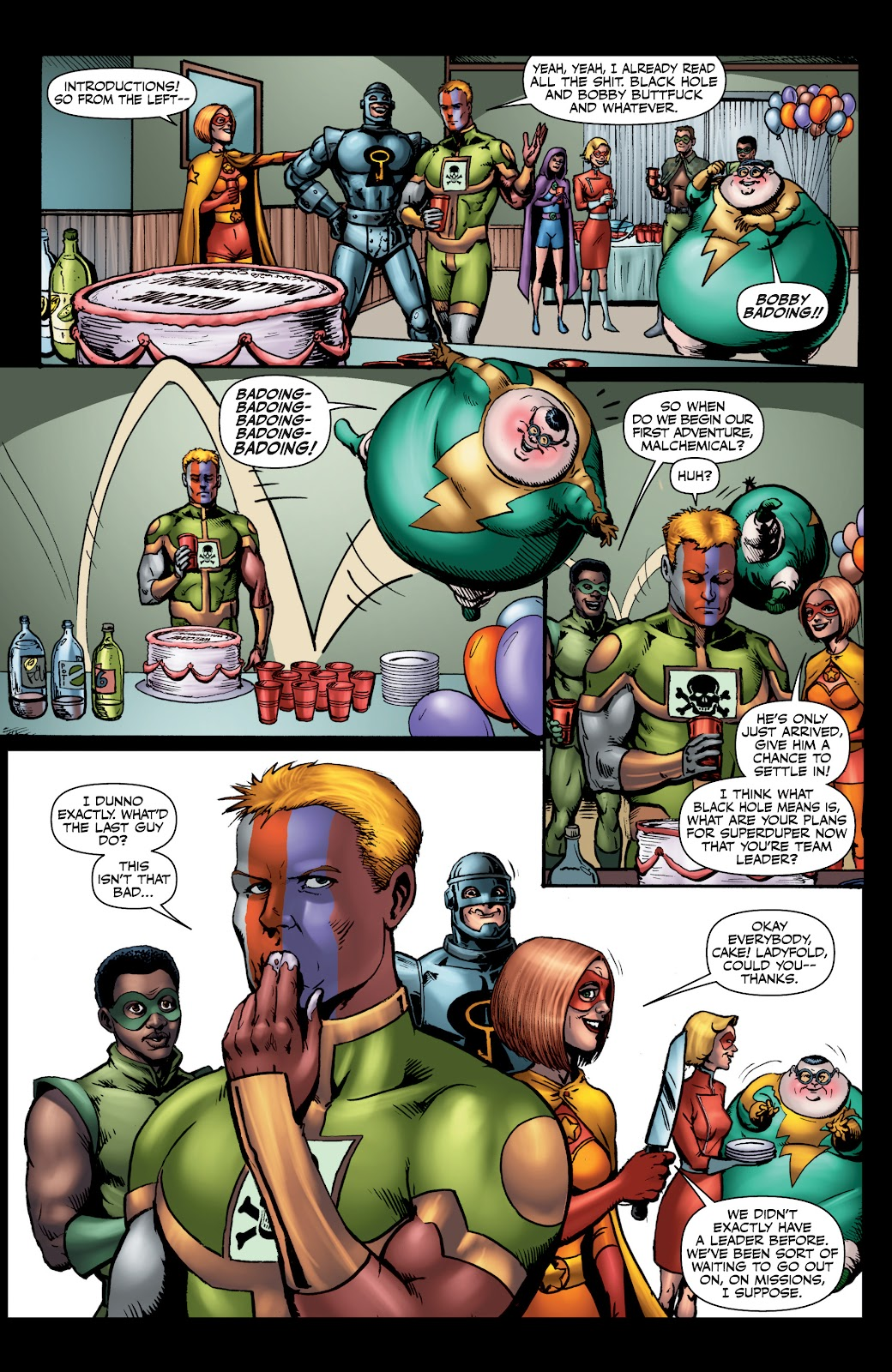 Read online The Boys Omnibus comic -  Issue # TPB 4 (Part 1) - 55