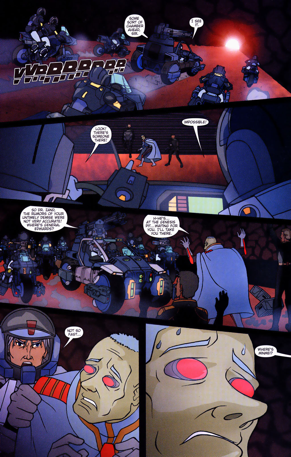 Read online Robotech: Prelude to the Shadow Chronicles comic -  Issue #4 - 13