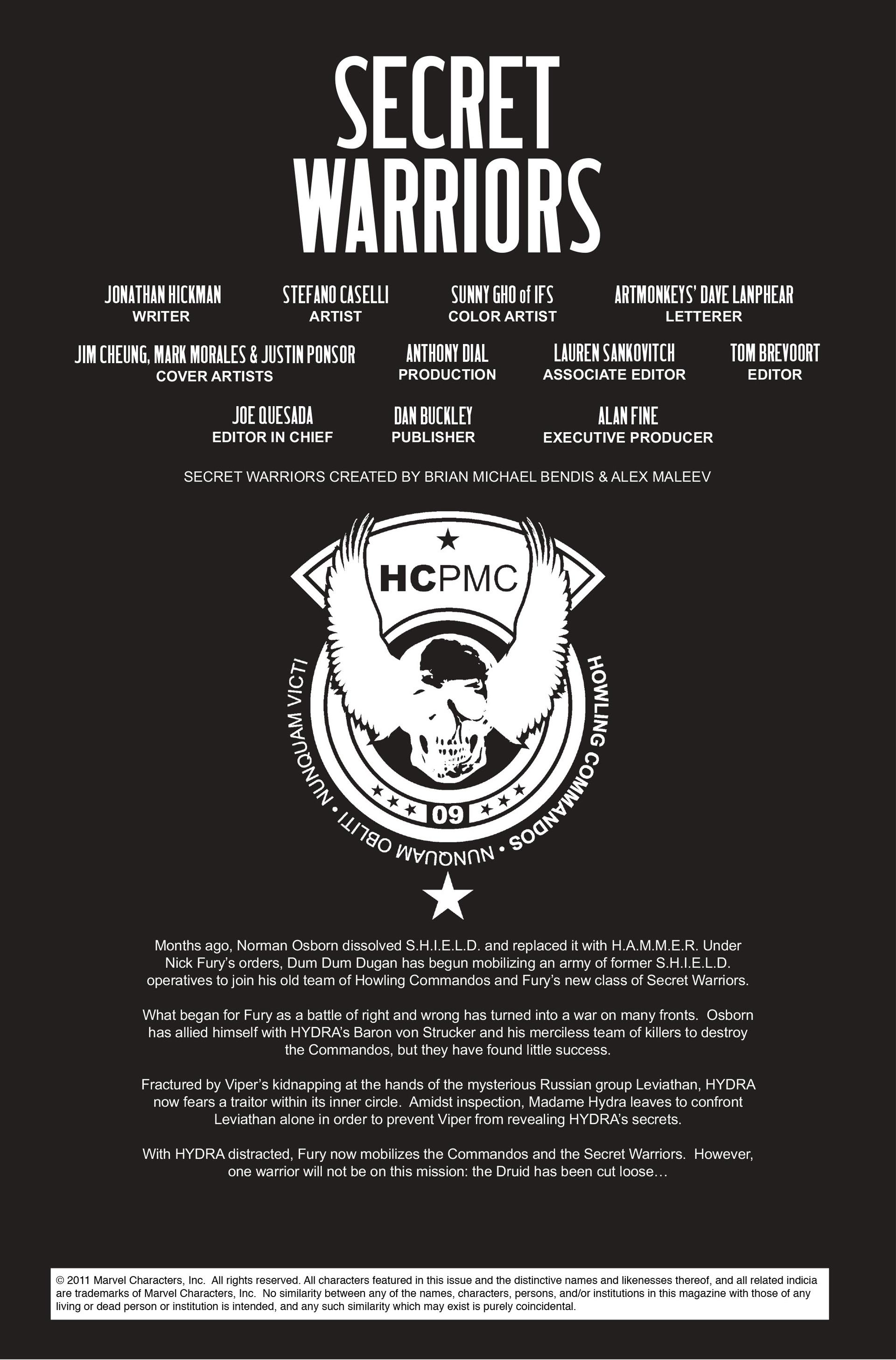 Read online Secret Warriors comic -  Issue #14 - 3
