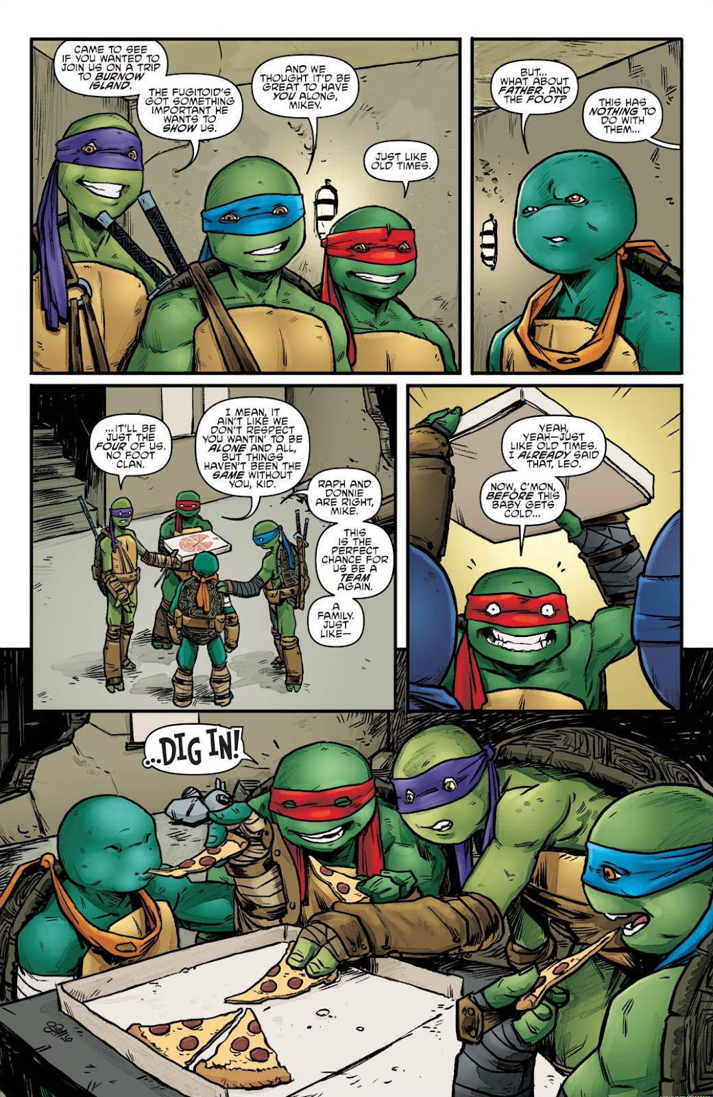 Read online Teenage Mutant Ninja Turtles: The IDW Collection comic -  Issue # TPB 7 (Part 2) - 20