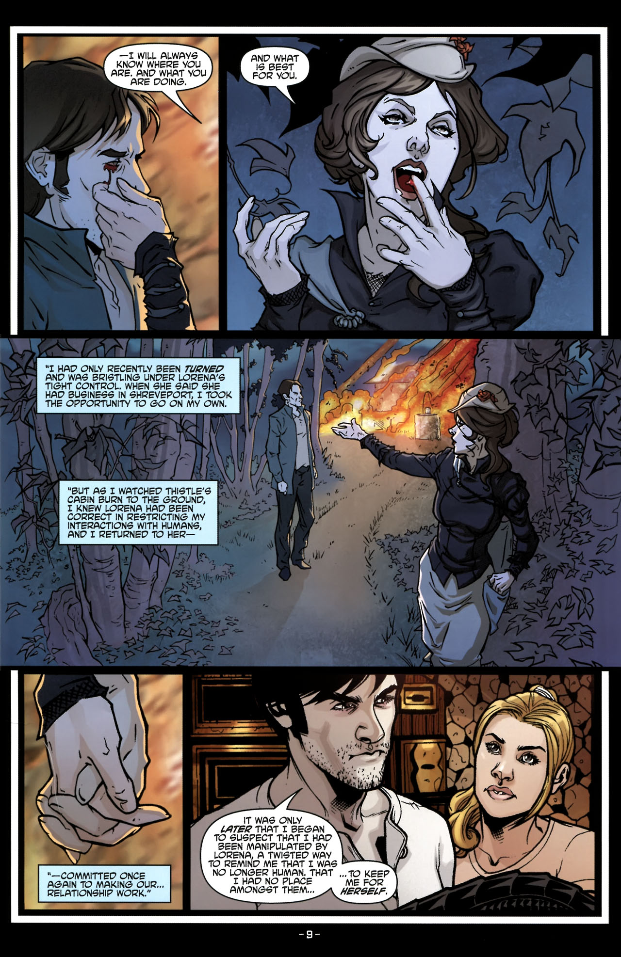 Read online True Blood (2010) comic -  Issue #6 - 12