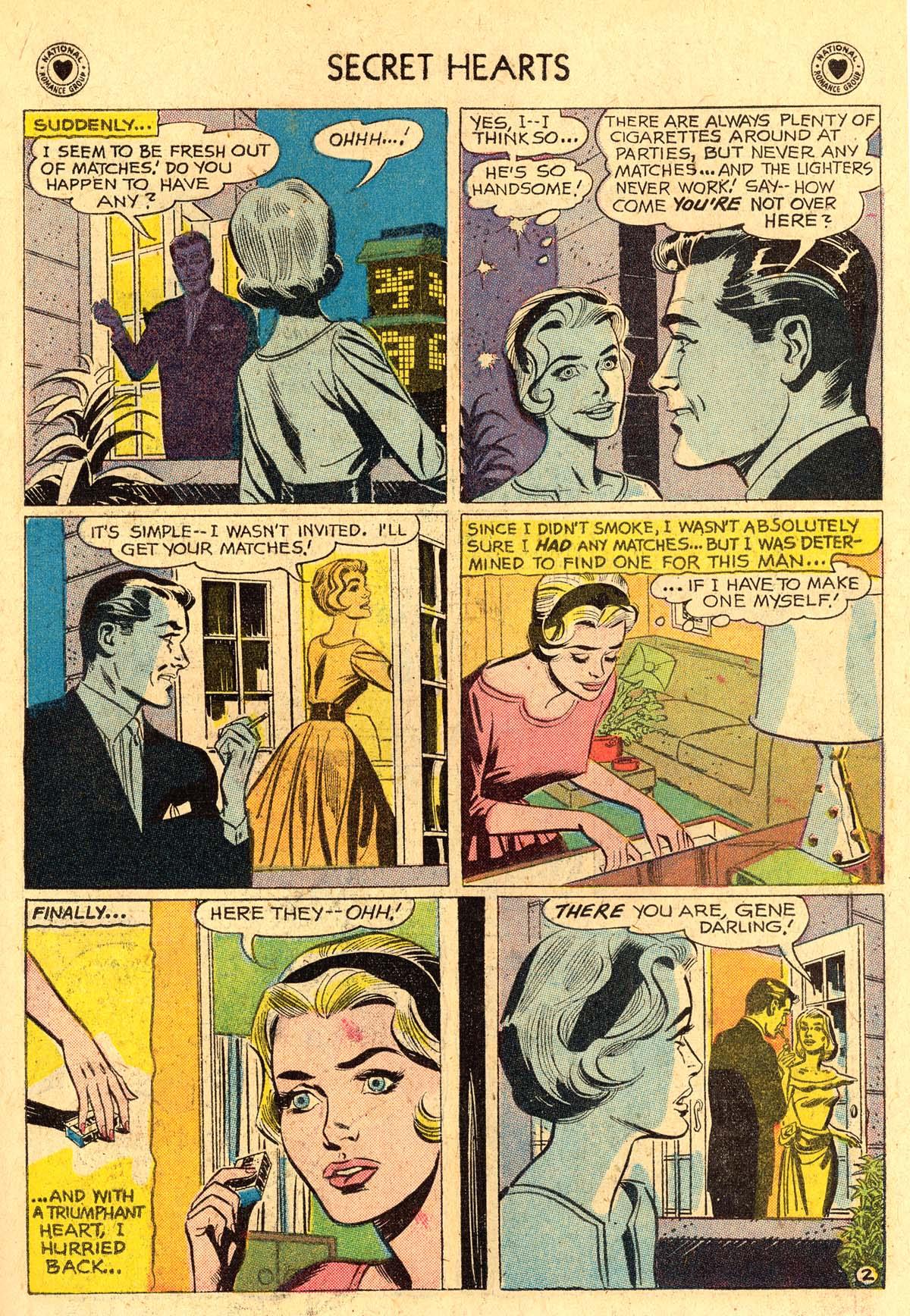 Read online Secret Hearts comic -  Issue #60 - 19