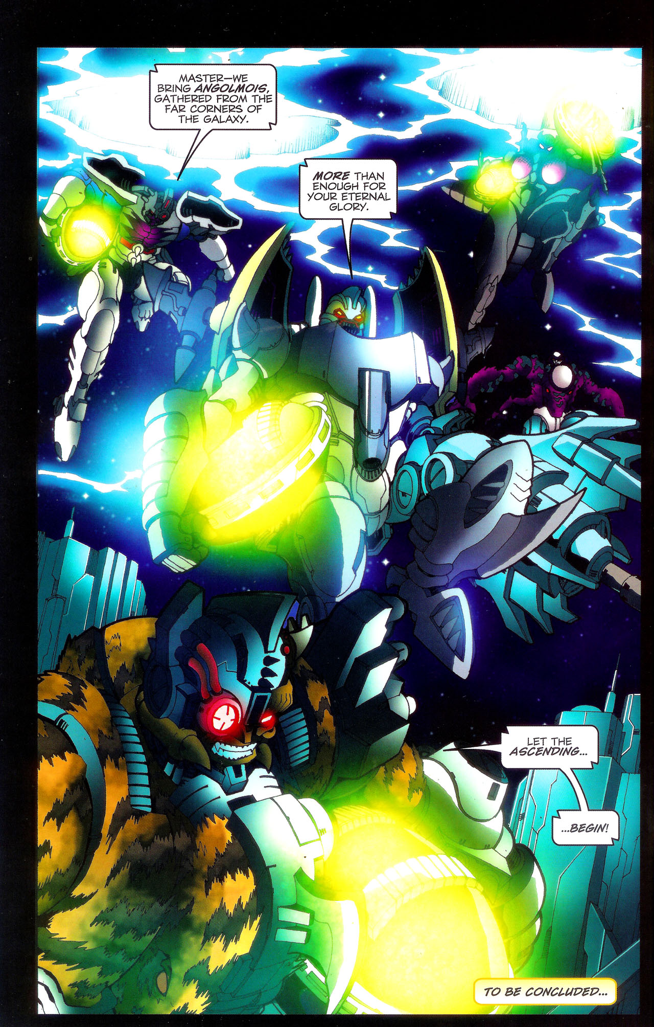 Read online Transformers: Beast Wars: The Ascending comic -  Issue #3 - 25