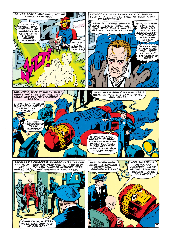 Read online Uncanny X-Men (1963) comic -  Issue #16 - 8