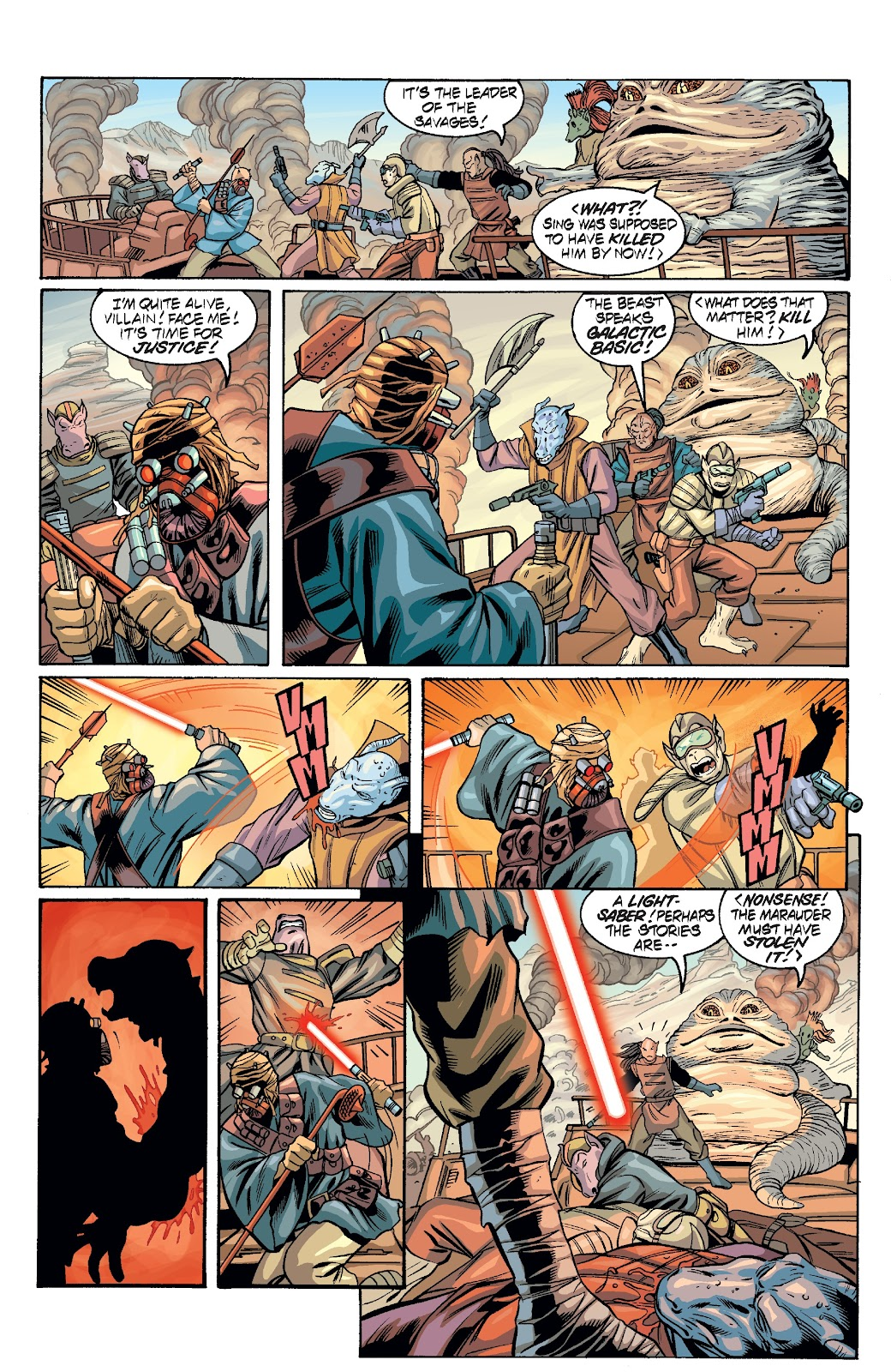 Read online Star Wars Legends Epic Collection: The Menace Revealed comic -  Issue # TPB (Part 3) - 22