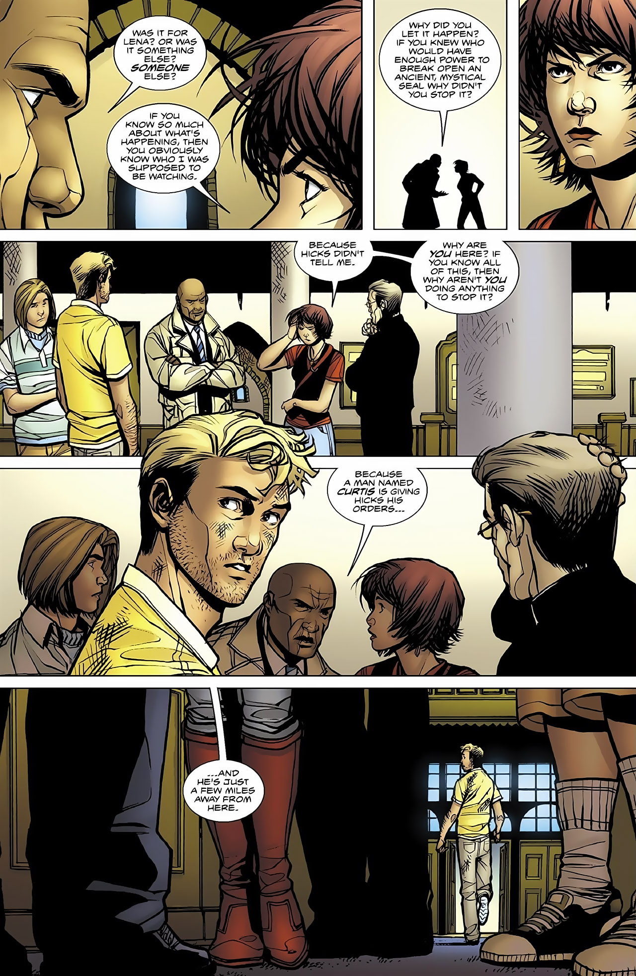 Read online Magus comic -  Issue #4 - 12